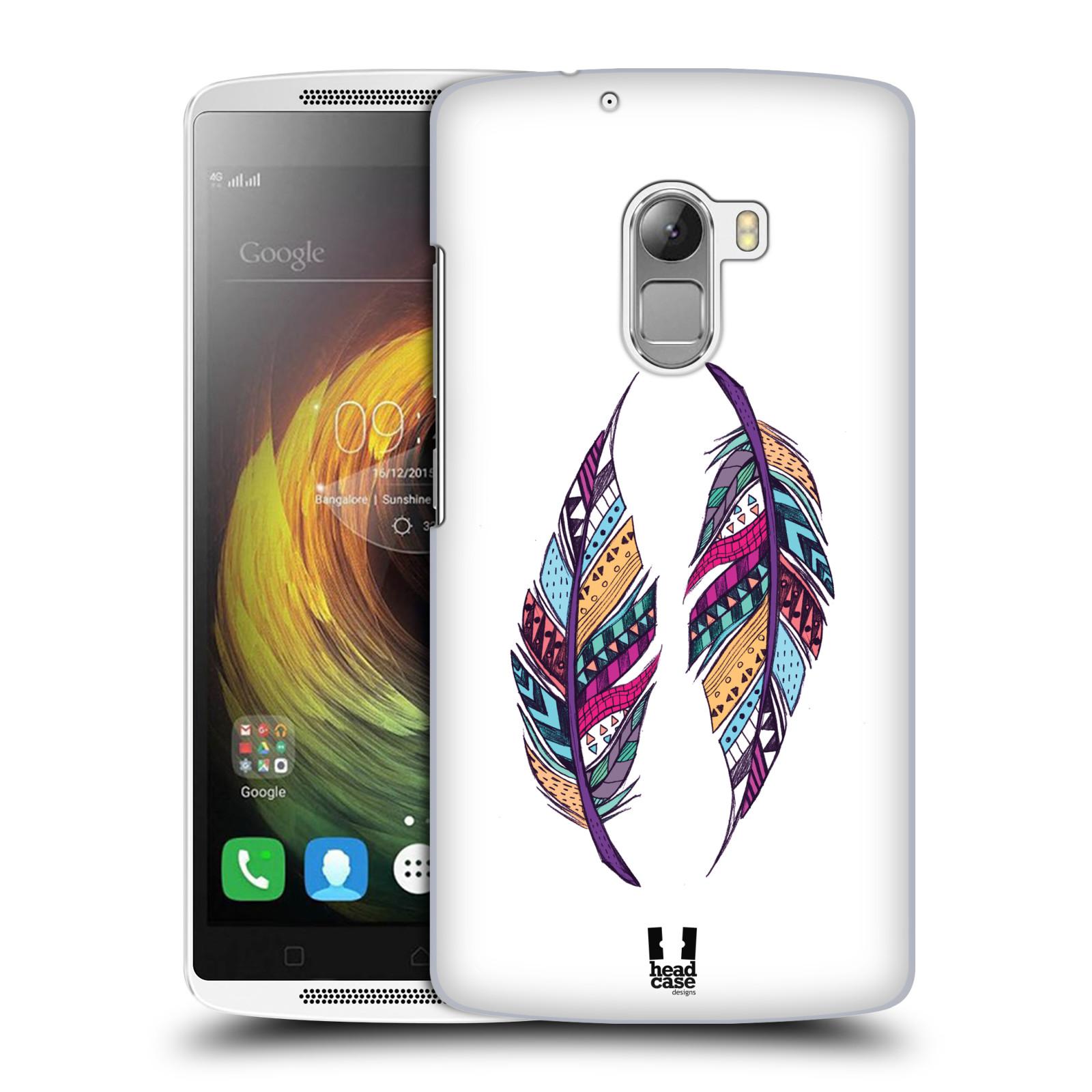 Plastové pouzdro na mobil Lenovo A7010 HEAD CASE AZTEC PÍRKA