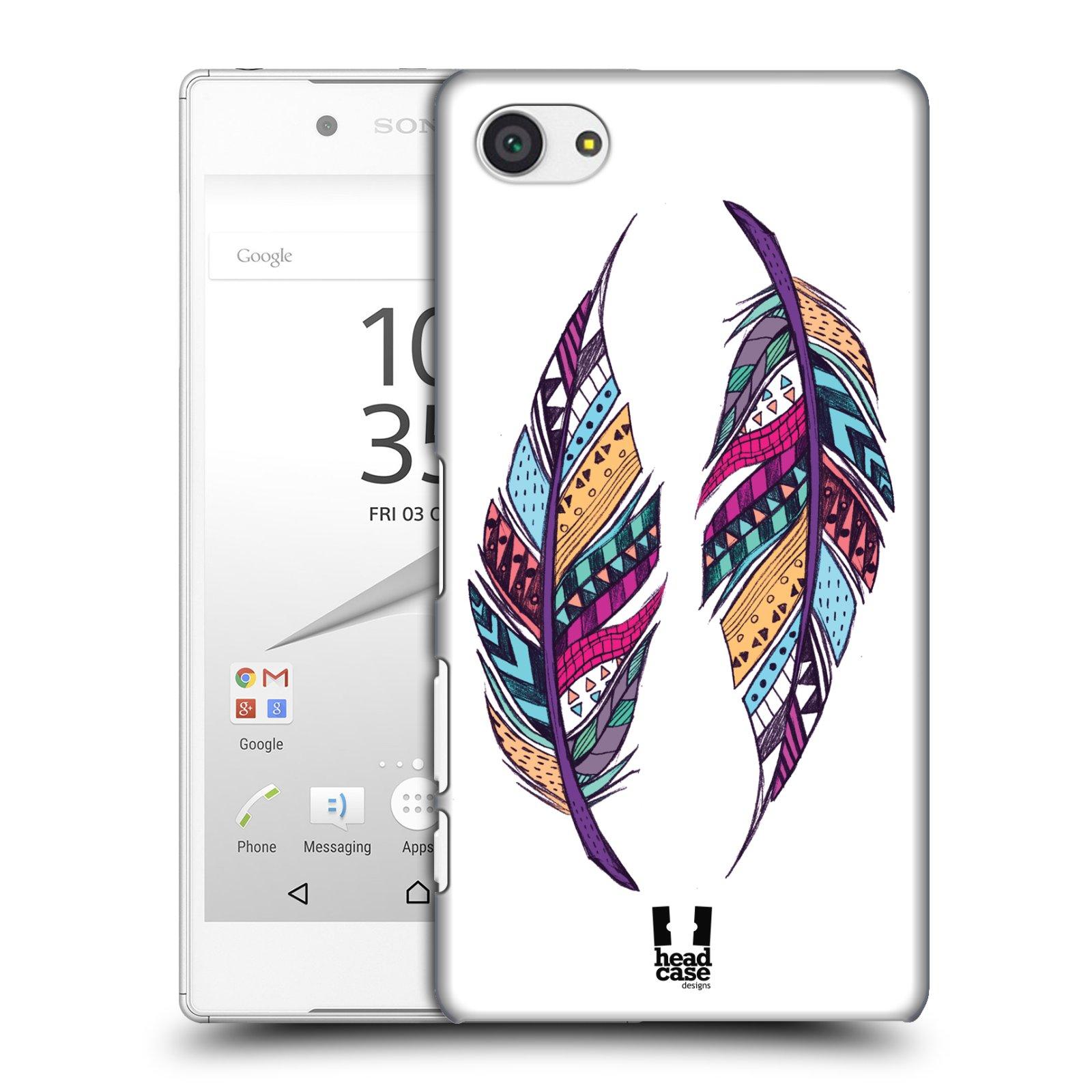 Plastové pouzdro na mobil Sony Xperia Z5 Compact HEAD CASE AZTEC PÍRKA