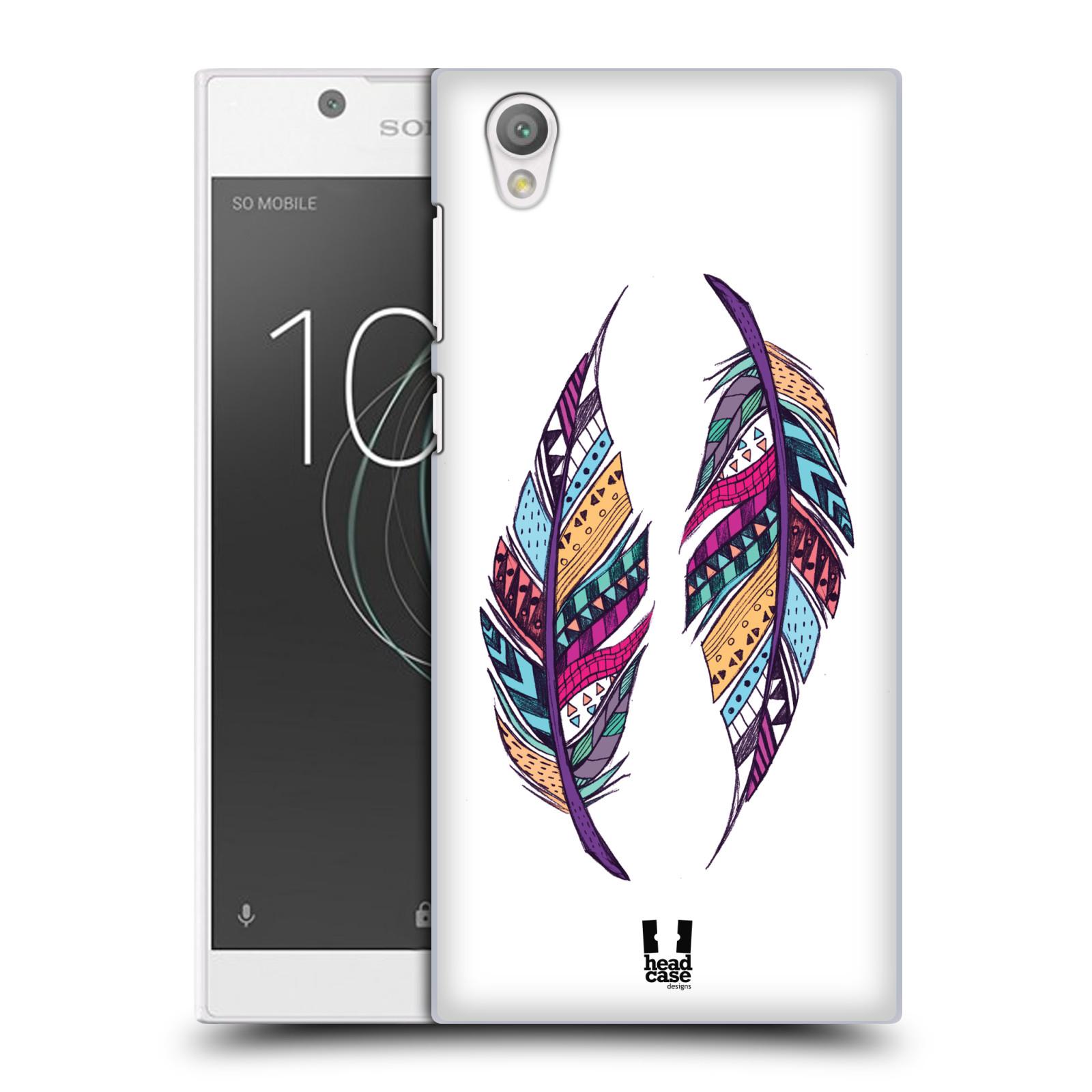 Plastové pouzdro na mobil Sony Xperia L1 - Head Case - AZTEC PÍRKA