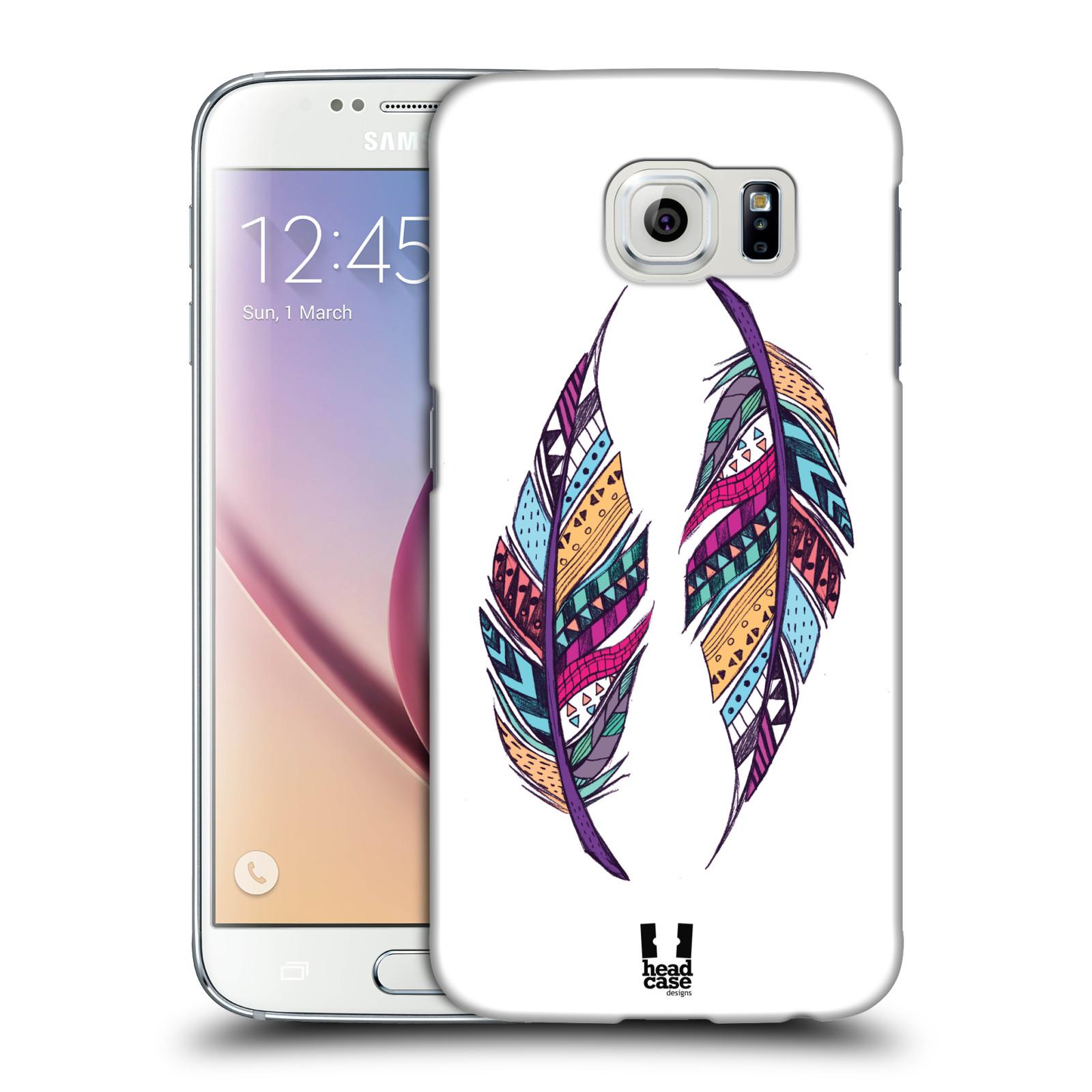 Plastové pouzdro na mobil Samsung Galaxy S6 HEAD CASE AZTEC PÍRKA