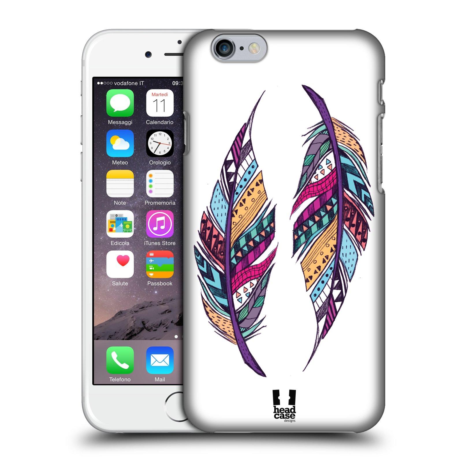 Plastové pouzdro na mobil Apple iPhone 6 a 6S HEAD CASE AZTEC PÍRKA