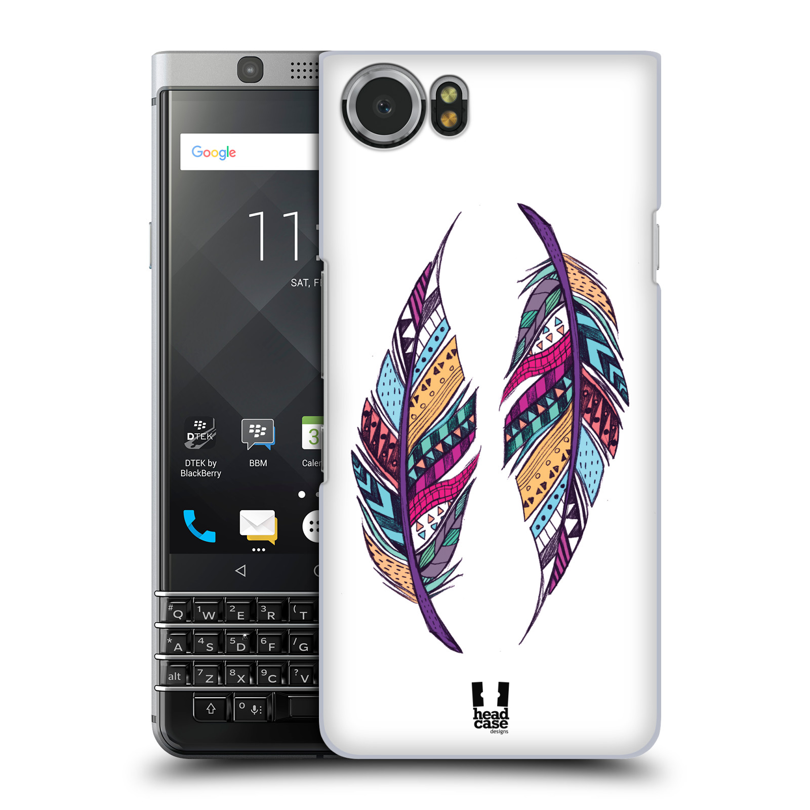 Plastové pouzdro na mobil BlackBerry KEYone - Head Case - AZTEC PÍRKA