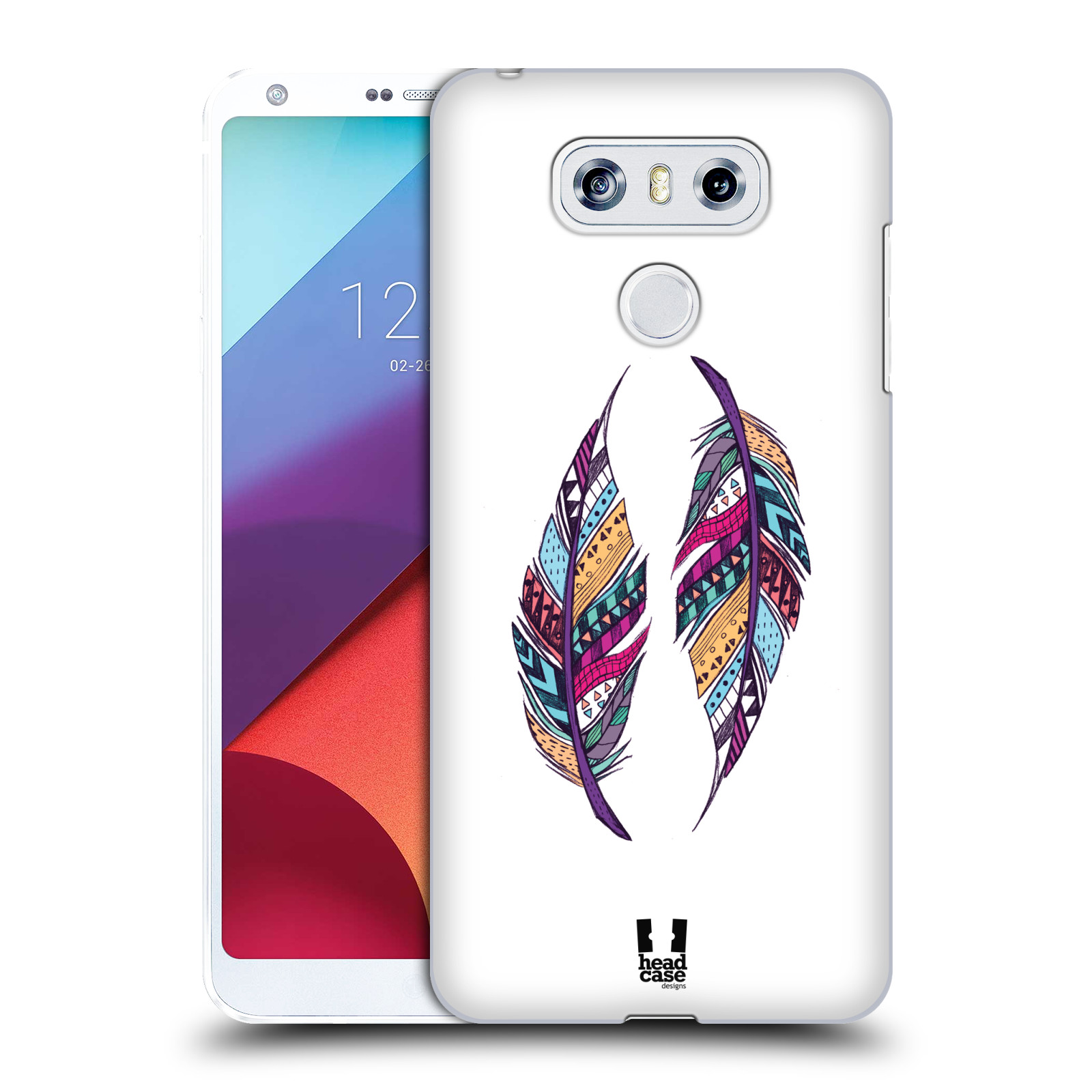Plastové pouzdro na mobil LG G6 - Head Case AZTEC PÍRKA