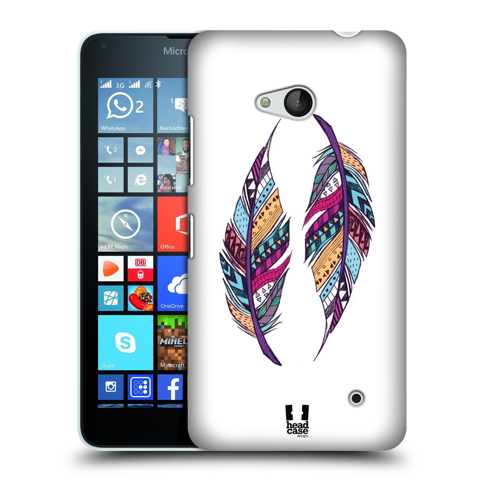 Plastové pouzdro na mobil Microsoft Lumia 640 HEAD CASE AZTEC PÍRKA
