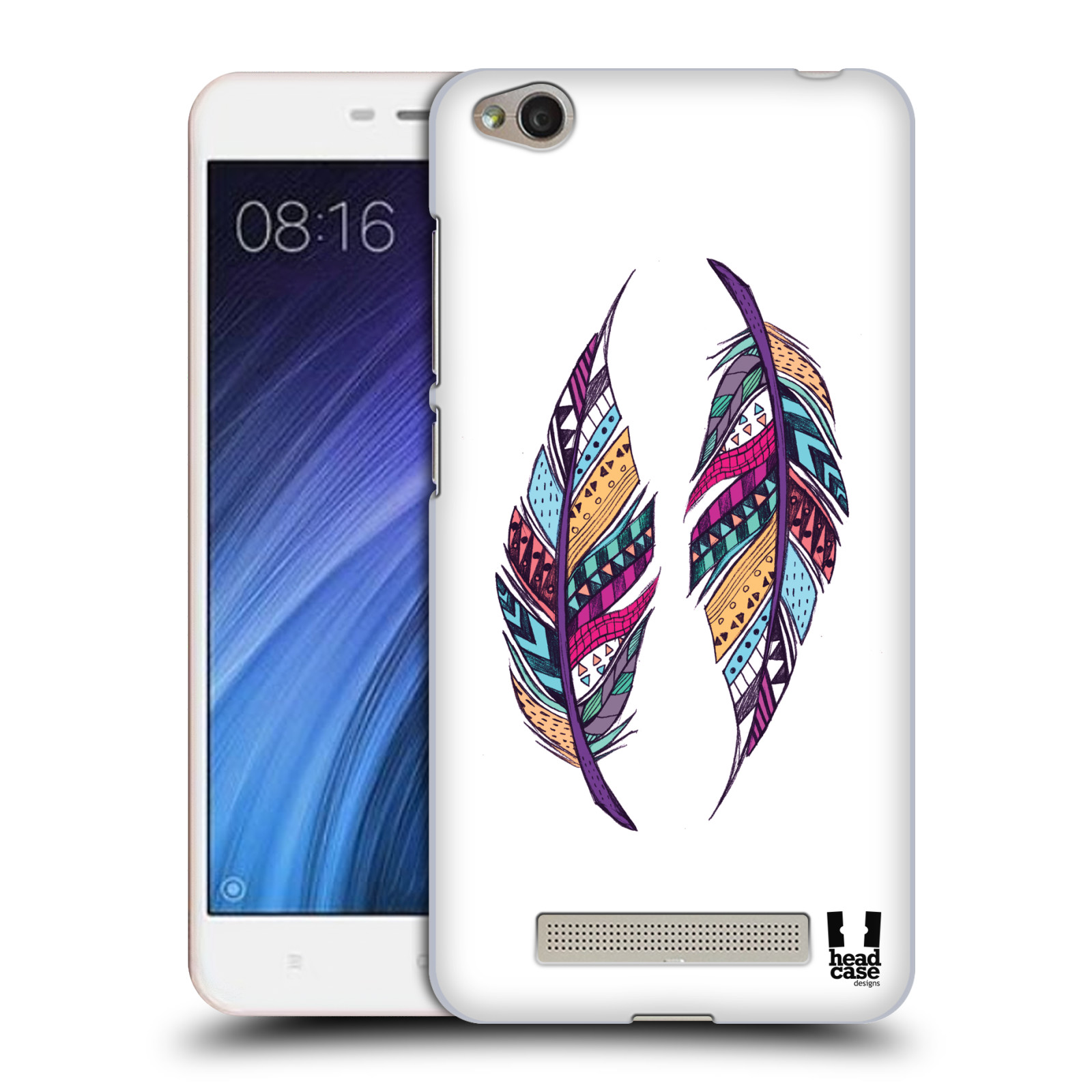 Plastové pouzdro na mobil Xiaomi Redmi 4A HEAD CASE AZTEC PÍRKA