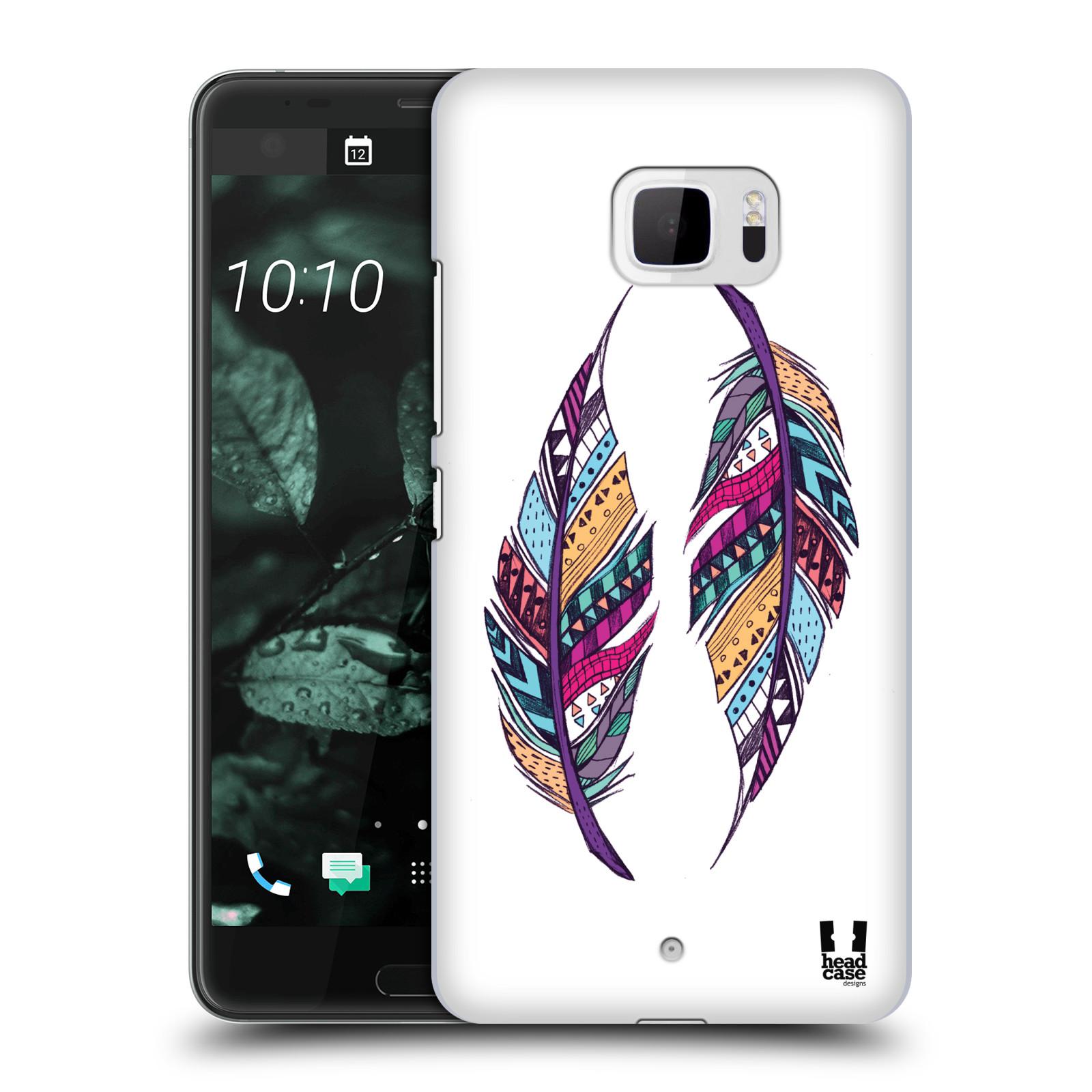 Plastové pouzdro na mobil HTC U Ultra Head Case - AZTEC PÍRKA