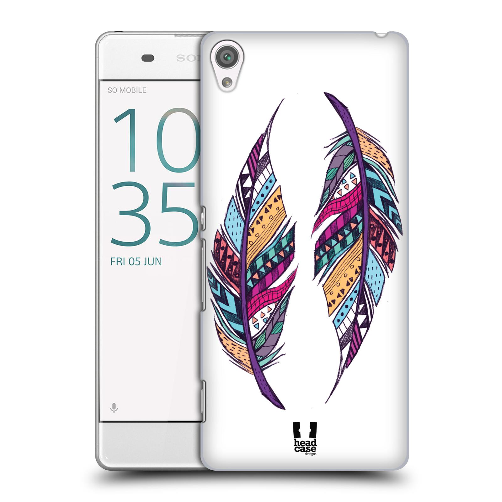 Plastové pouzdro na mobil Sony Xperia XA HEAD CASE AZTEC PÍRKA