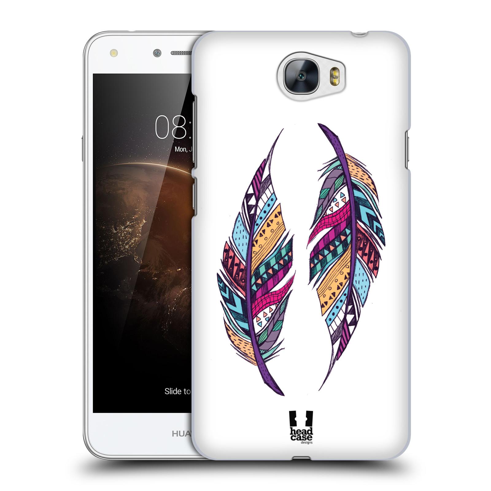 Plastové pouzdro na mobil Huawei Y5 II HEAD CASE AZTEC PÍRKA