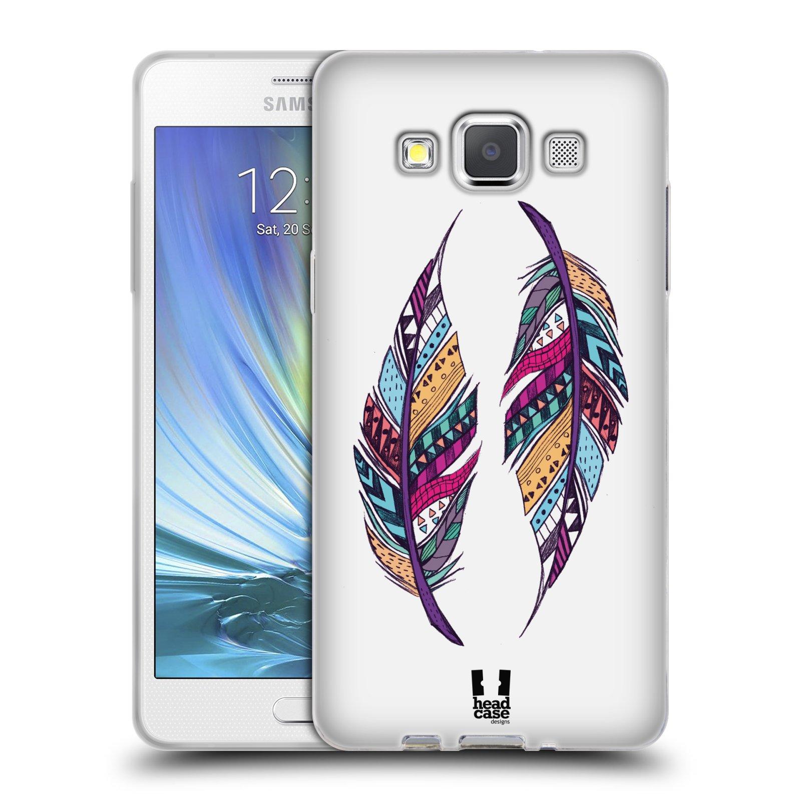 Silikonové pouzdro na mobil Samsung Galaxy A5 HEAD CASE AZTEC PÍRKA