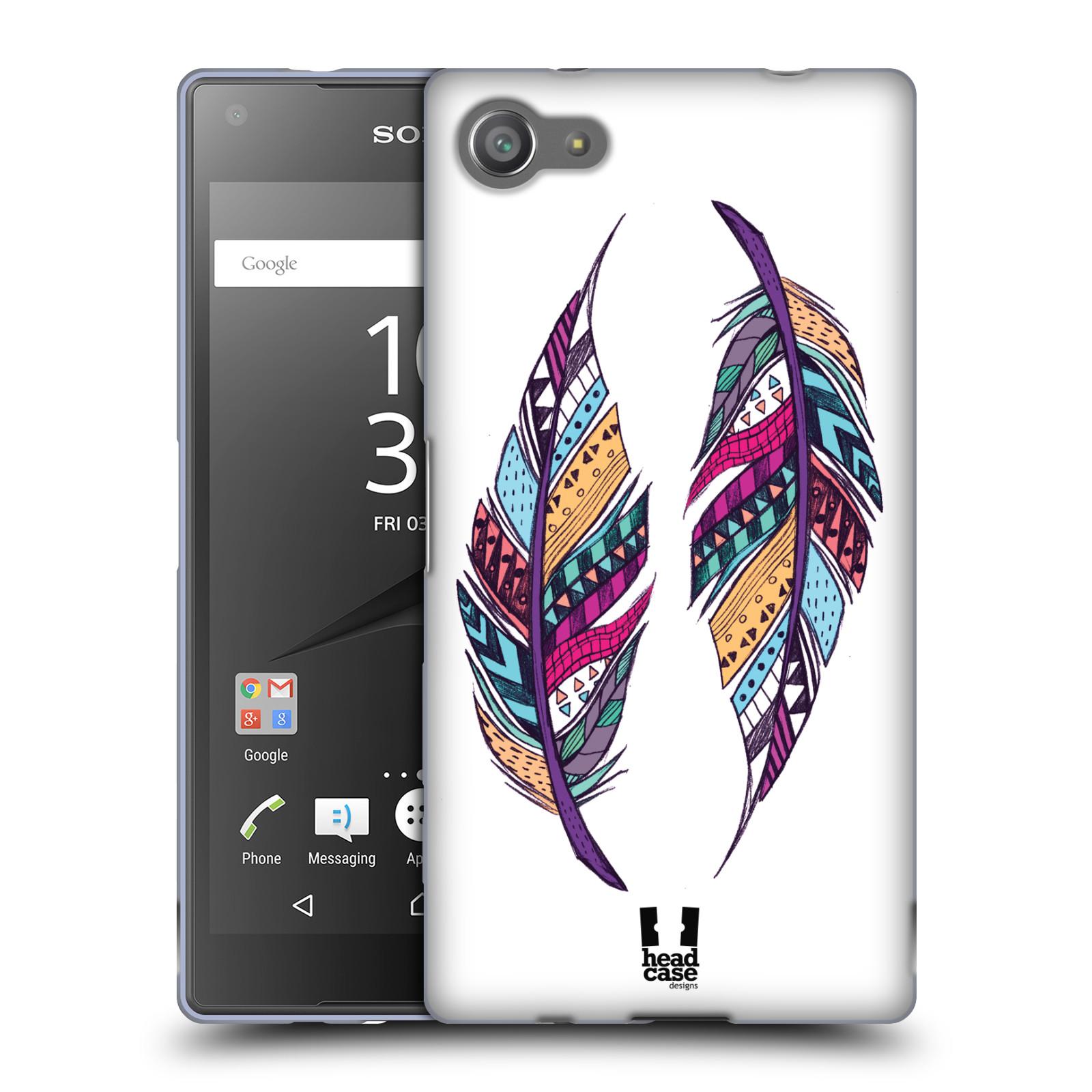 Silikonové pouzdro na mobil Sony Xperia Z5 Compact HEAD CASE AZTEC PÍRKA