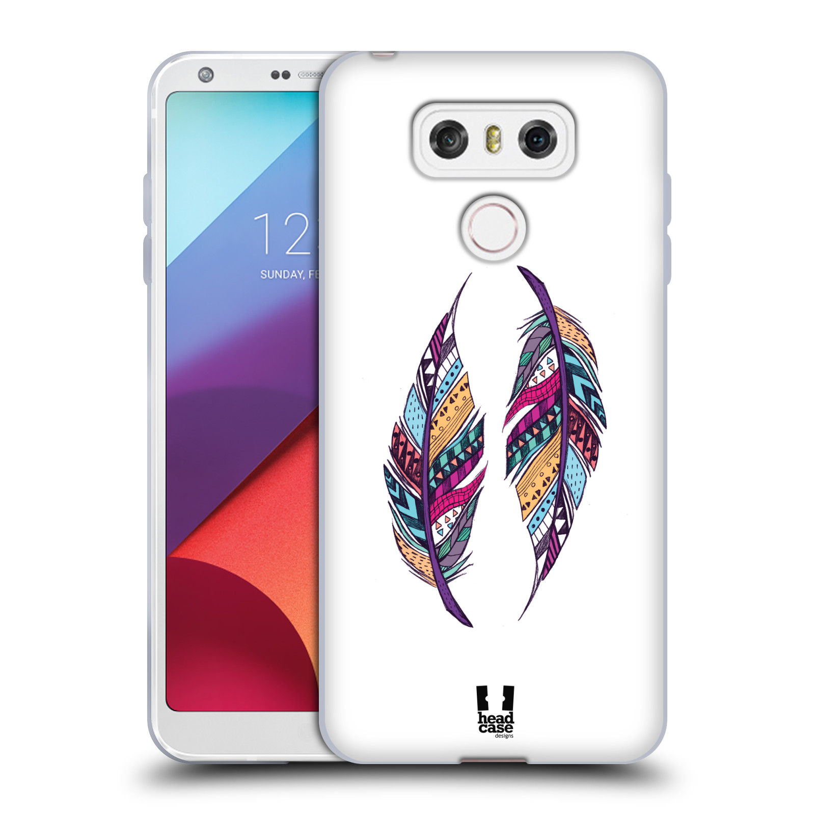 Silikonové pouzdro na mobil LG G6 - Head Case AZTEC PÍRKA