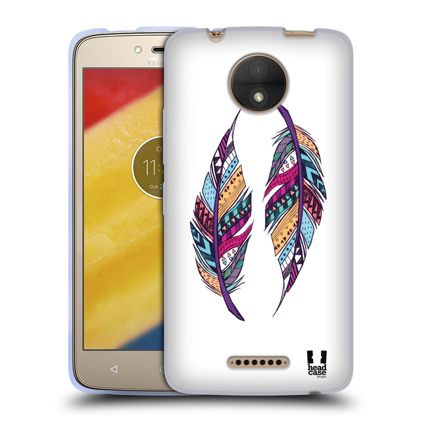Silikonové pouzdro na mobil Lenovo Moto C - Head Case - AZTEC PÍRKA
