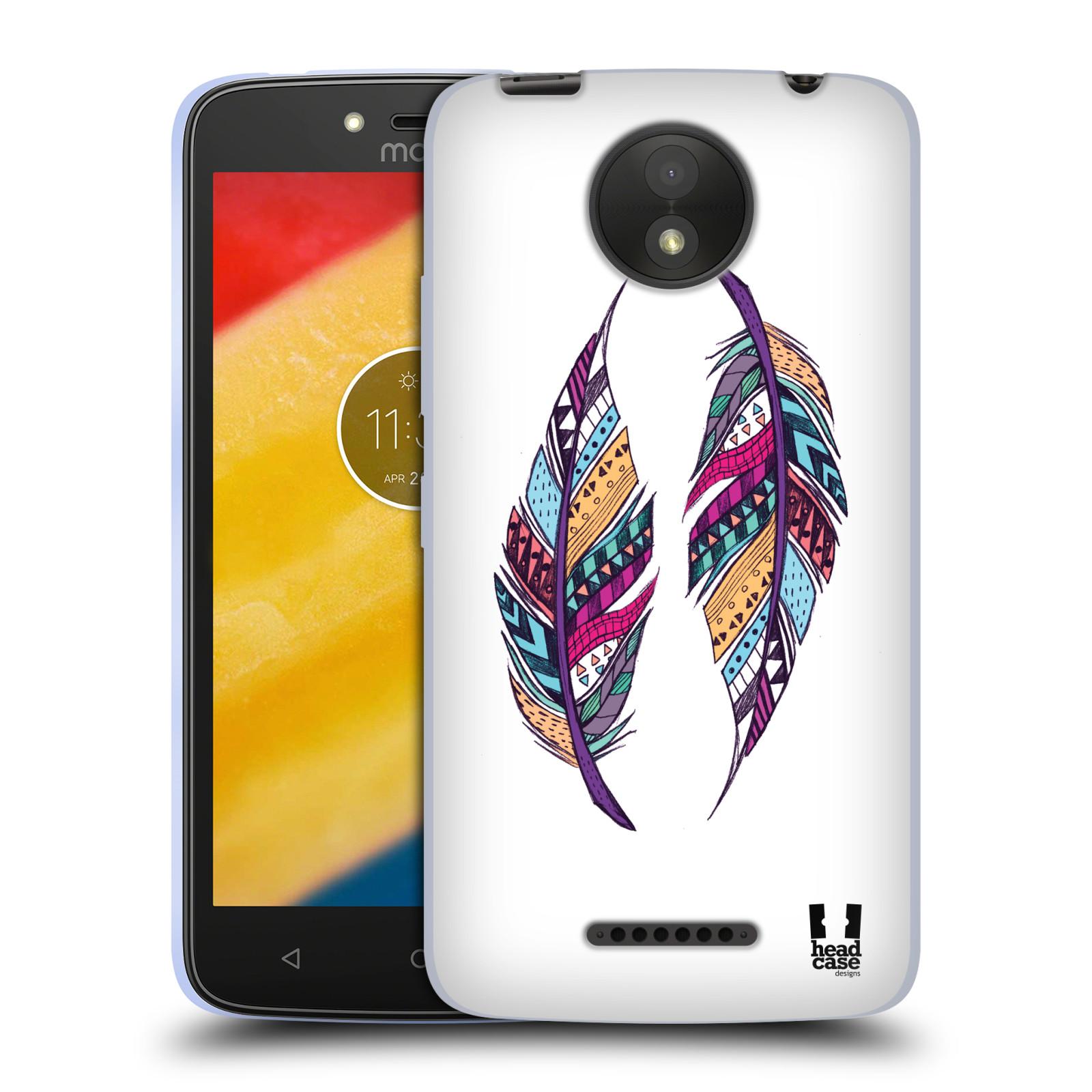 Silikonové pouzdro na mobil Lenovo Moto C Plus - Head Case - AZTEC PÍRKA