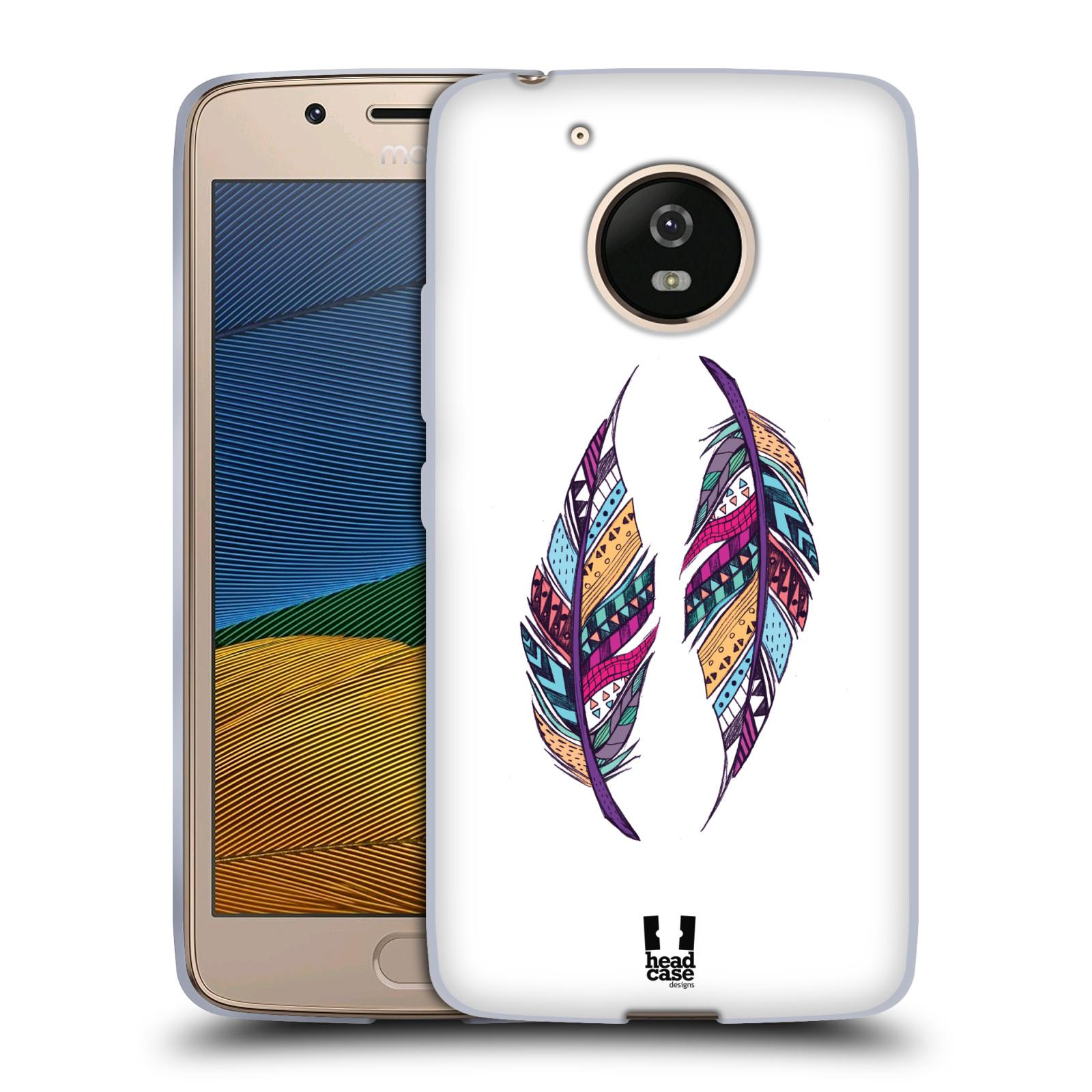 Silikonové pouzdro na mobil Lenovo Moto G5 - Head Case AZTEC PÍRKA