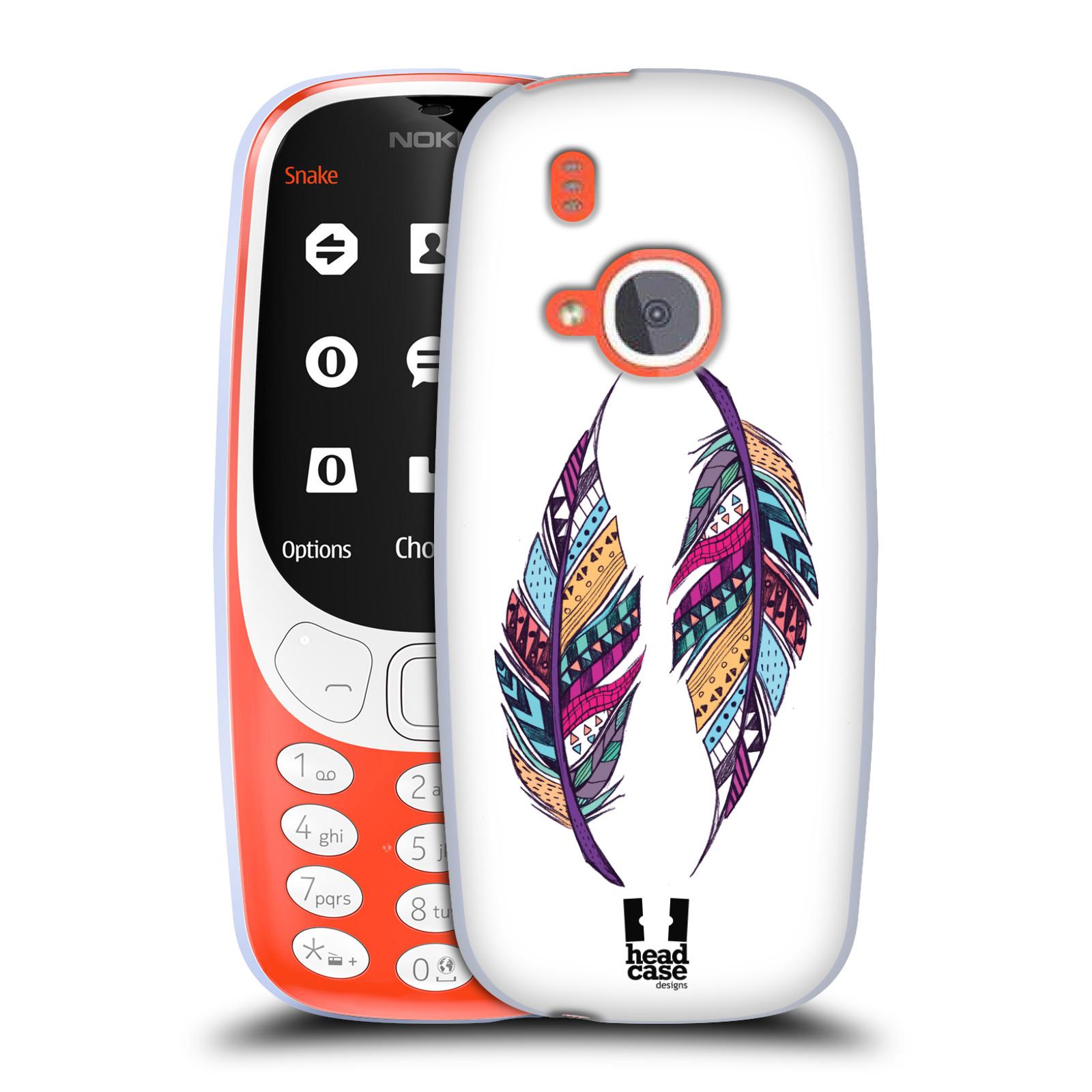Silikonové pouzdro na mobil Nokia 3310 - Head Case - AZTEC PÍRKA