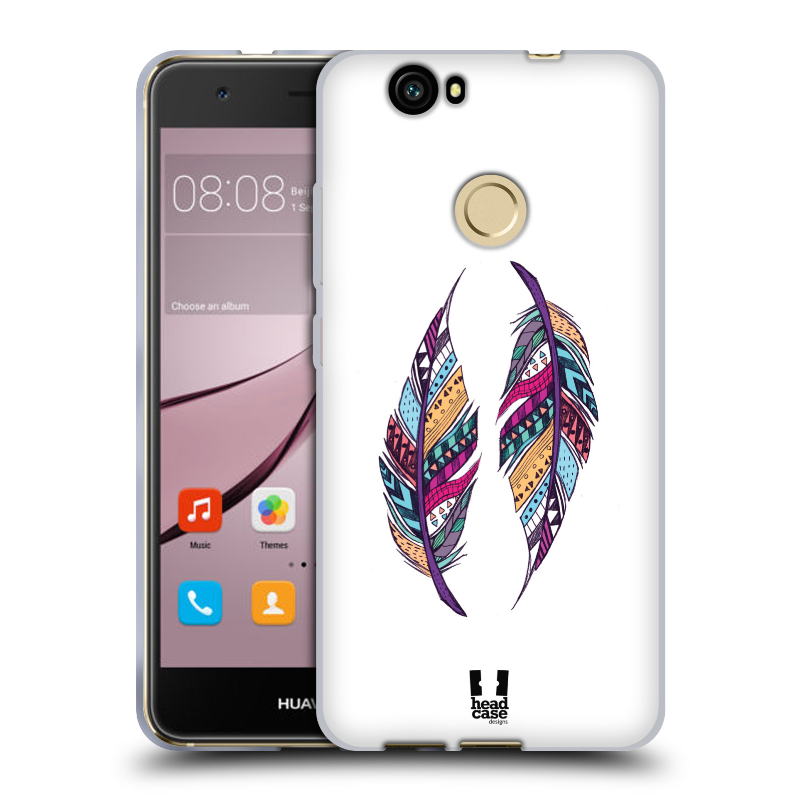 Silikonové pouzdro na mobil Huawei Nova - Head Case - AZTEC PÍRKA