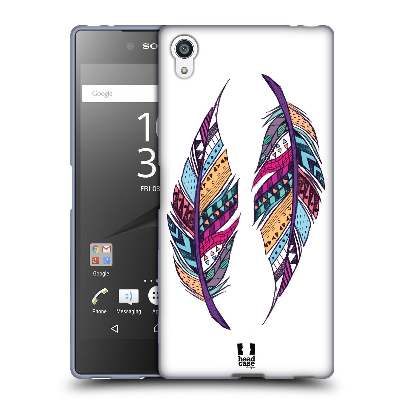 Silikonové pouzdro na mobil Sony Xperia Z5 Premium HEAD CASE AZTEC PÍRKA