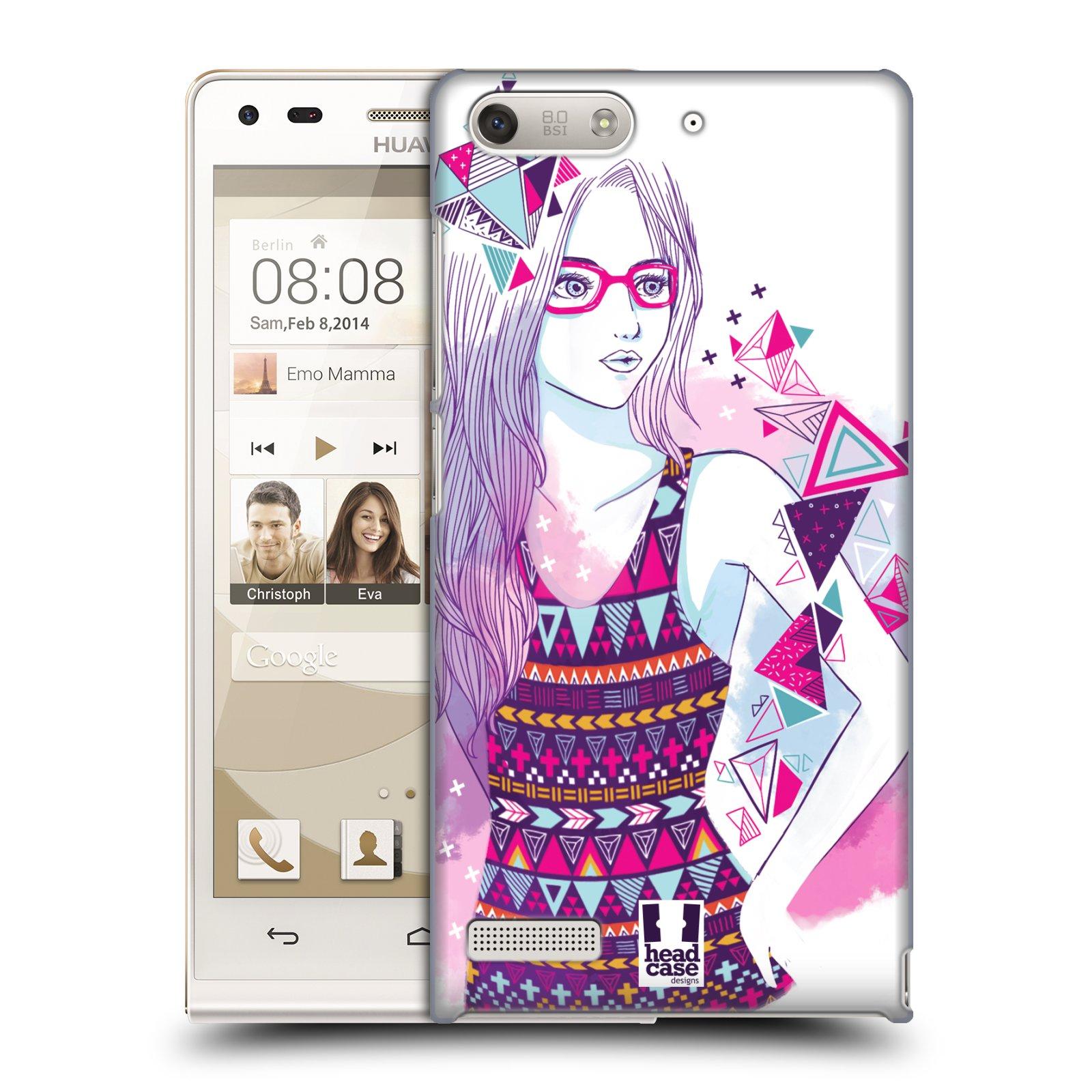 Plastové pouzdro na mobil Huawei Ascend G6 HEAD CASE AZTEC HOLKA (Kryt či obal na mobilní telefon Huawei Ascend G6 bez LTE)