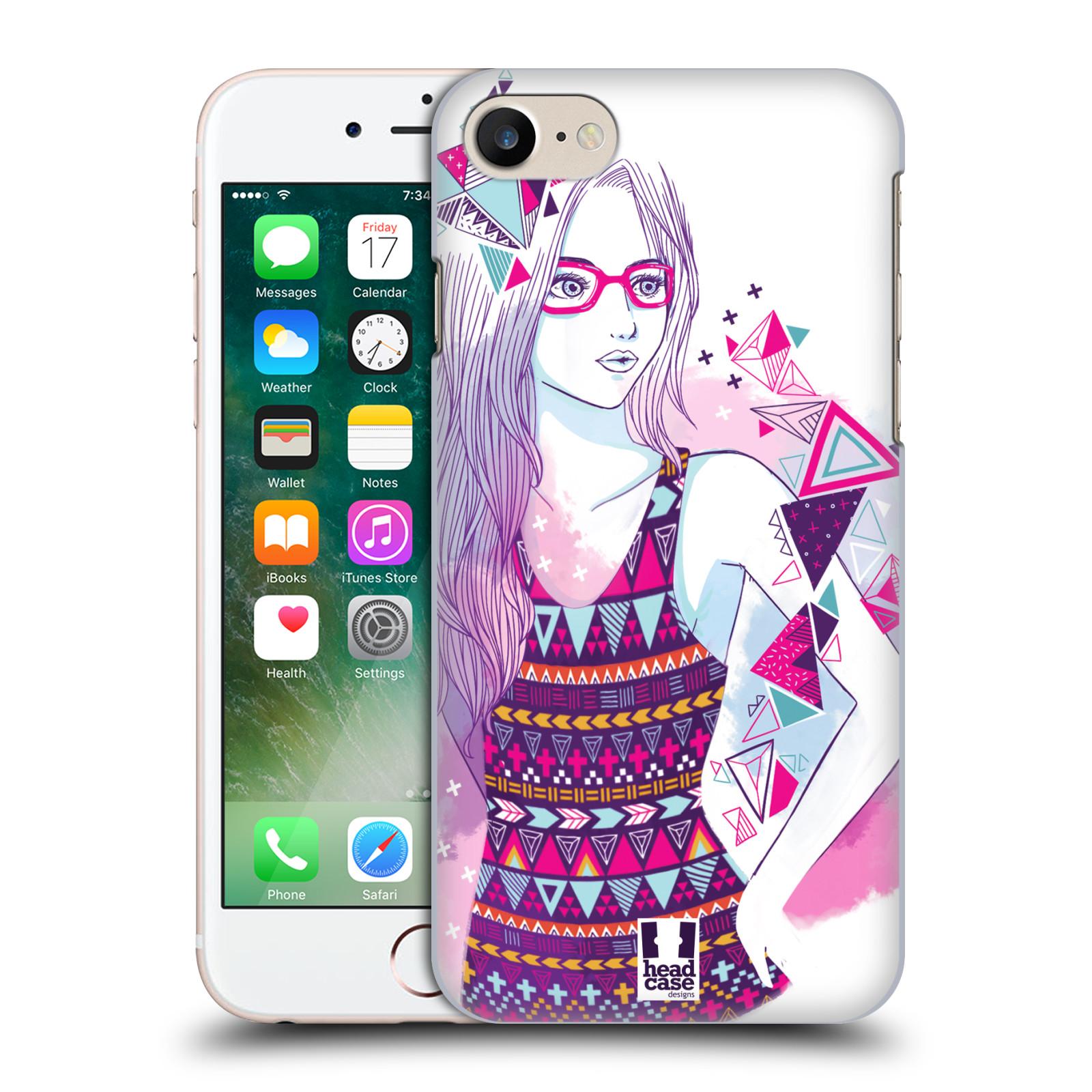 Plastové pouzdro na mobil Apple iPhone 7 HEAD CASE AZTEC HOLKA