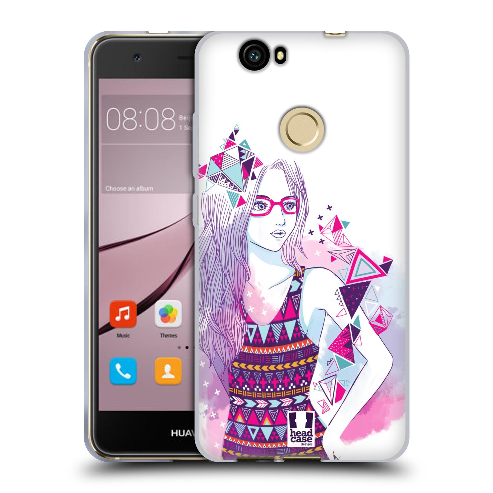 Silikonové pouzdro na mobil Huawei Nova - Head Case - AZTEC HOLKA