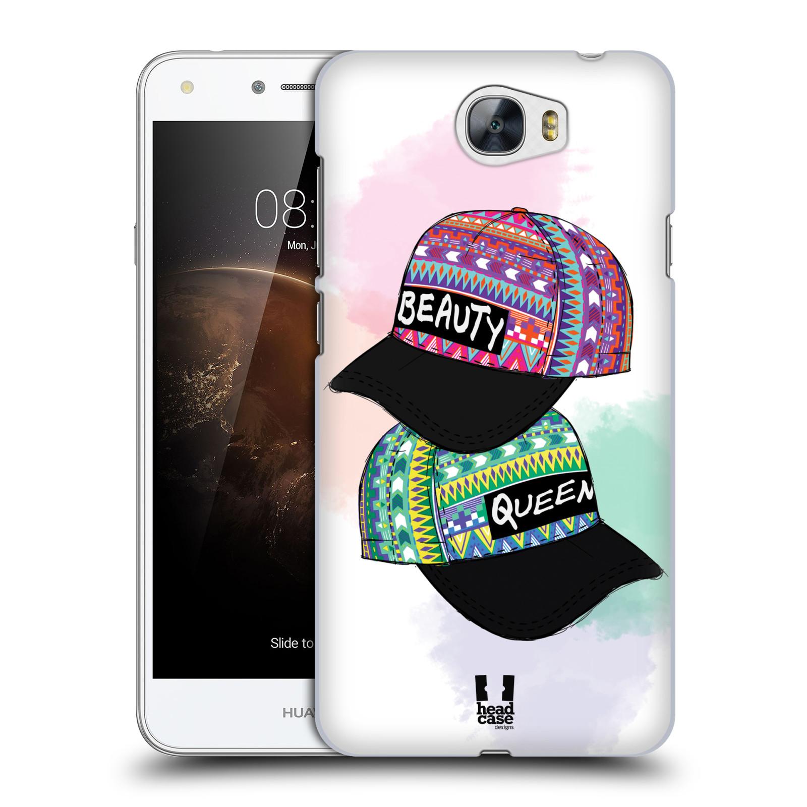 Plastové pouzdro na mobil Huawei Y5 II HEAD CASE AZTEC ČAPKY