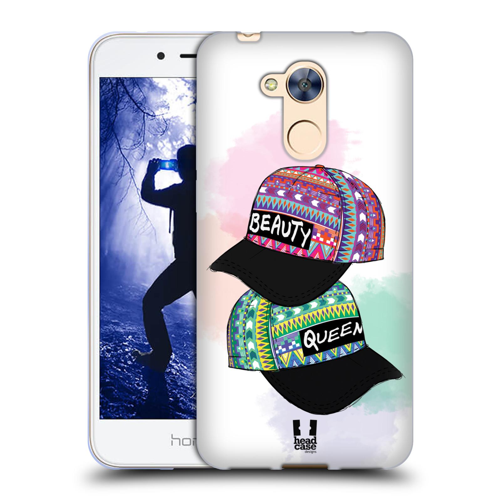 Silikonové pouzdro na mobil Honor 6A - Head Case - AZTEC ČAPKY
