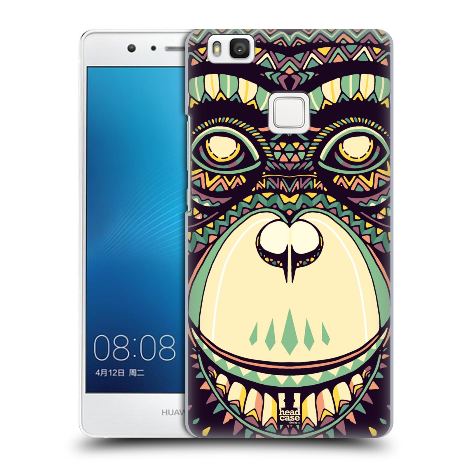 Plastové pouzdro na mobil Huawei P9 Lite HEAD CASE AZTEC ŠIMPANZ
