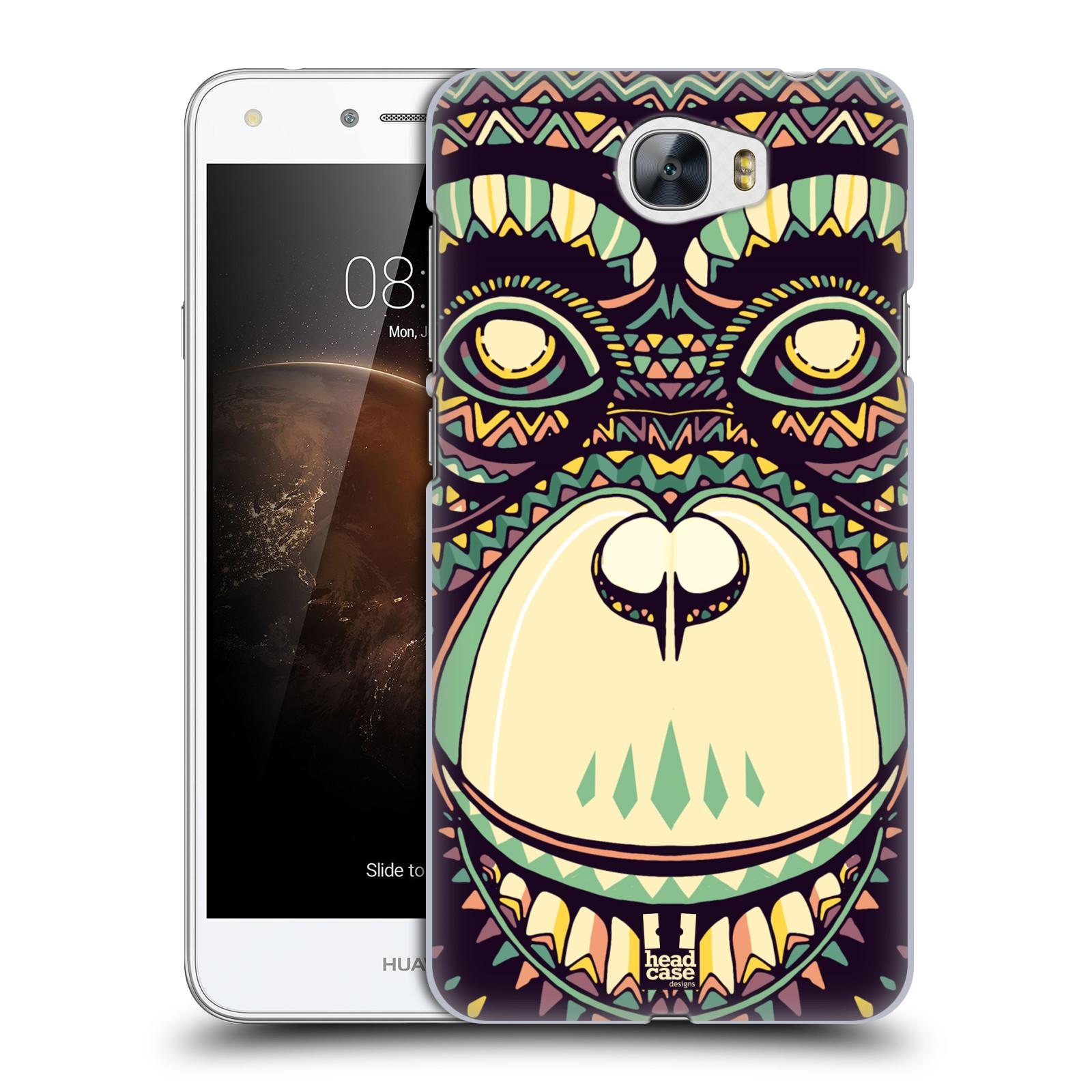 Plastové pouzdro na mobil Huawei Y5 II HEAD CASE AZTEC ŠIMPANZ