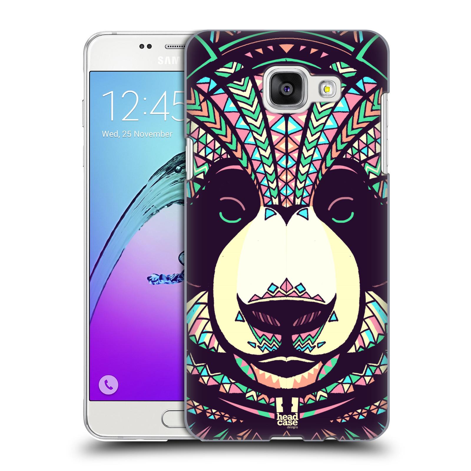 Plastové pouzdro na mobil Samsung Galaxy A5 (2016) HEAD CASE AZTEC PANDA