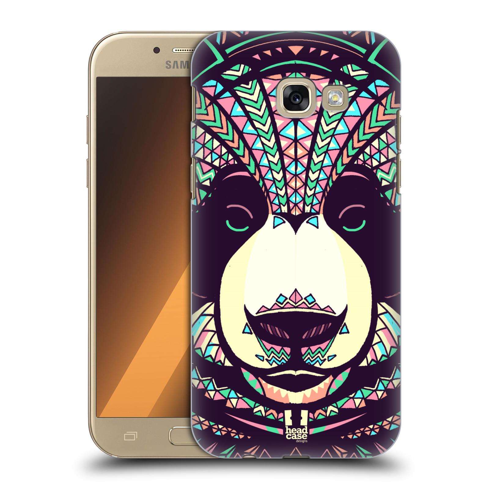 Plastové pouzdro na mobil Samsung Galaxy A5 (2017) HEAD CASE AZTEC PANDA
