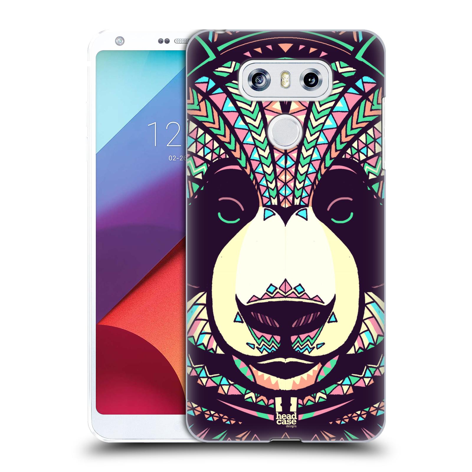Plastové pouzdro na mobil LG G6 - Head Case AZTEC PANDA