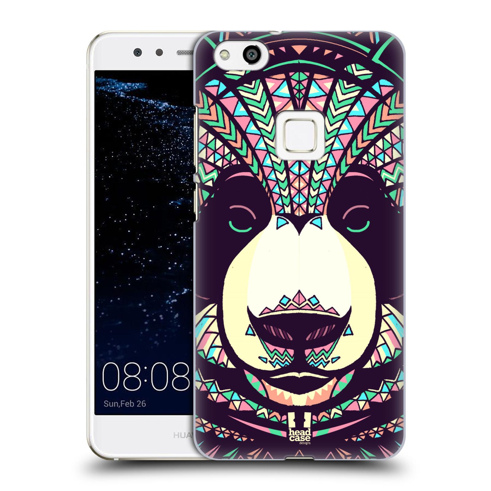 Plastové pouzdro na mobil Huawei P10 Lite Head Case - AZTEC PANDA (Plastový kryt či obal na mobilní telefon Huawei P10 Lite Dual SIM (LX1/LX1A))