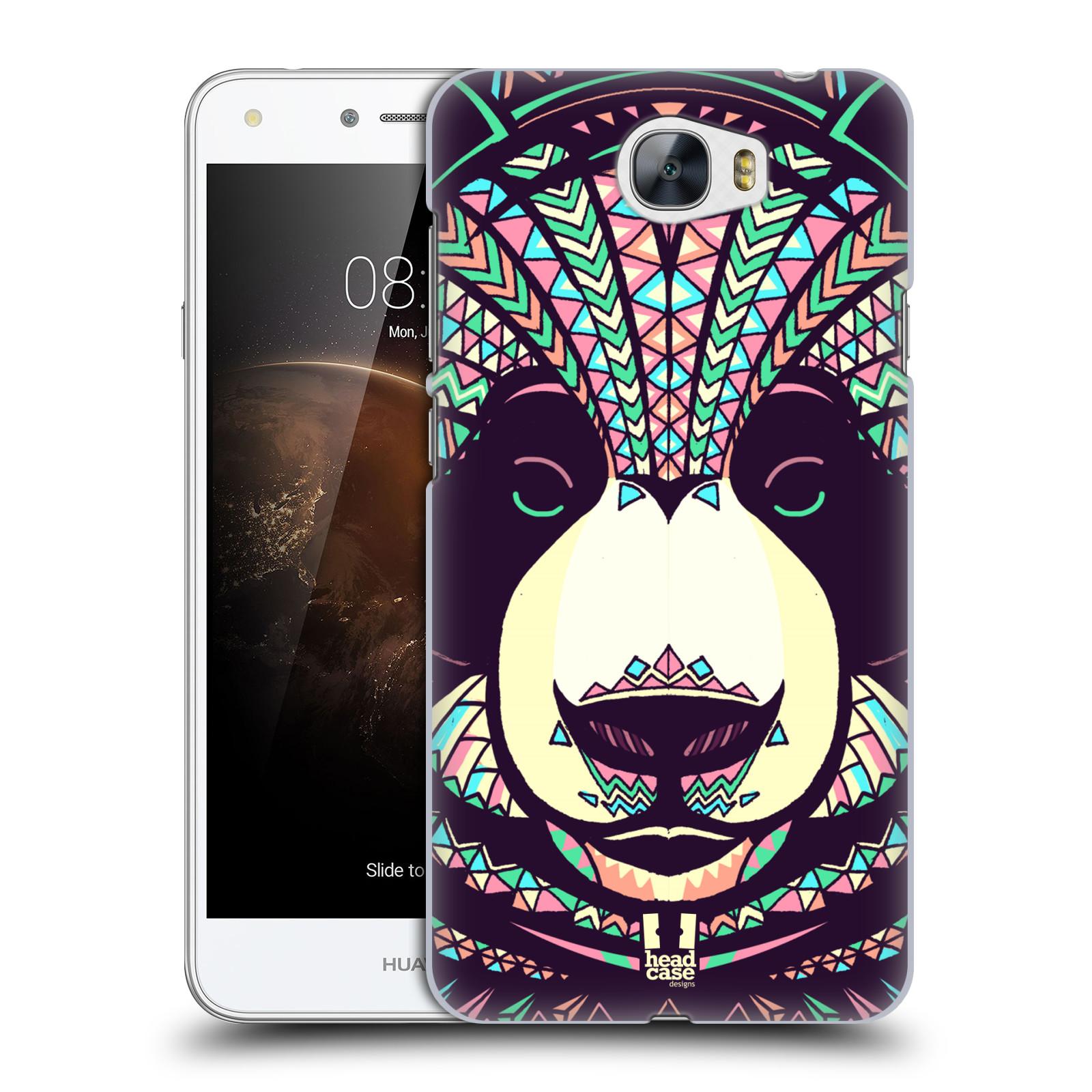 Plastové pouzdro na mobil Huawei Y5 II HEAD CASE AZTEC PANDA