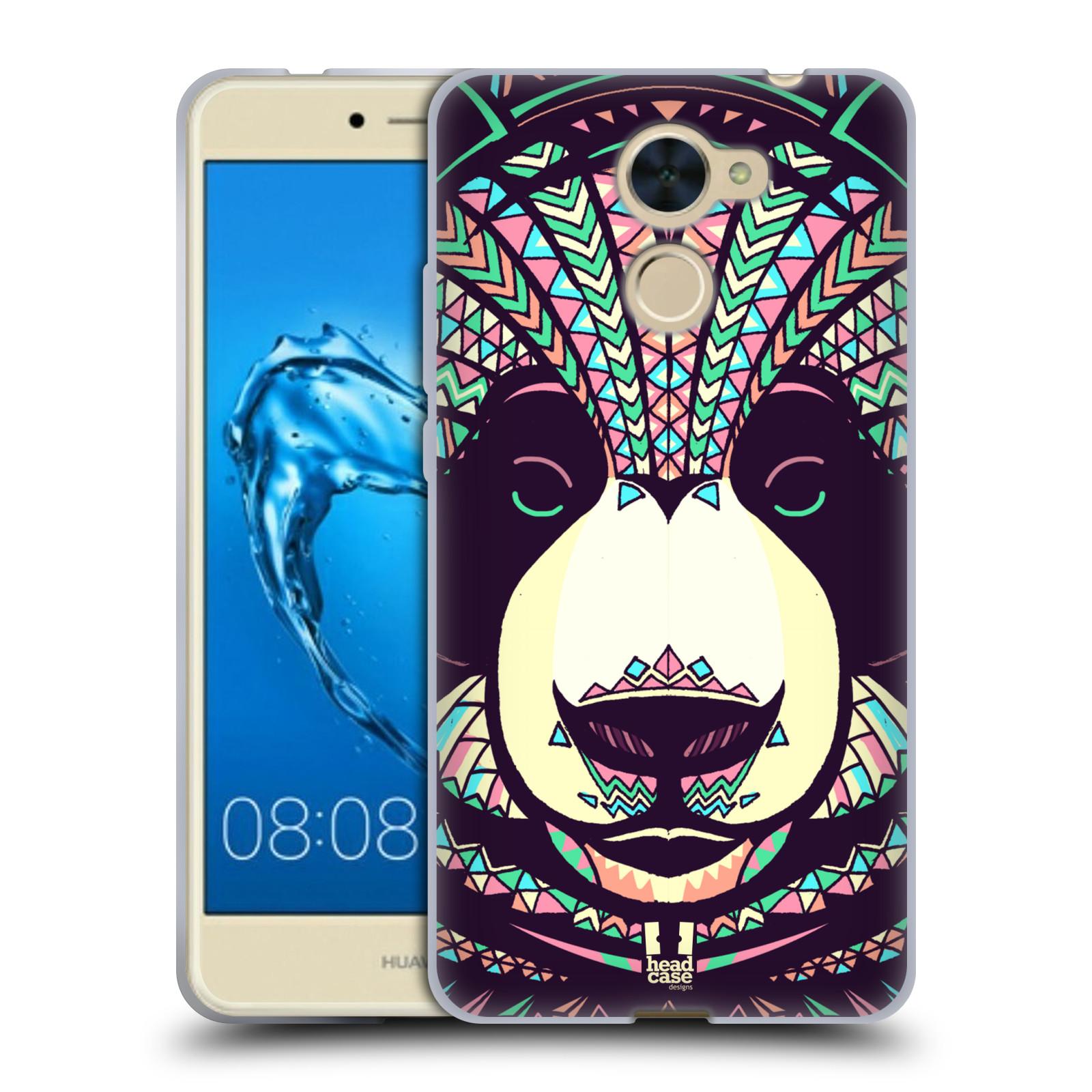 Silikonové pouzdro na mobil Huawei Y7 - Head Case - AZTEC PANDA