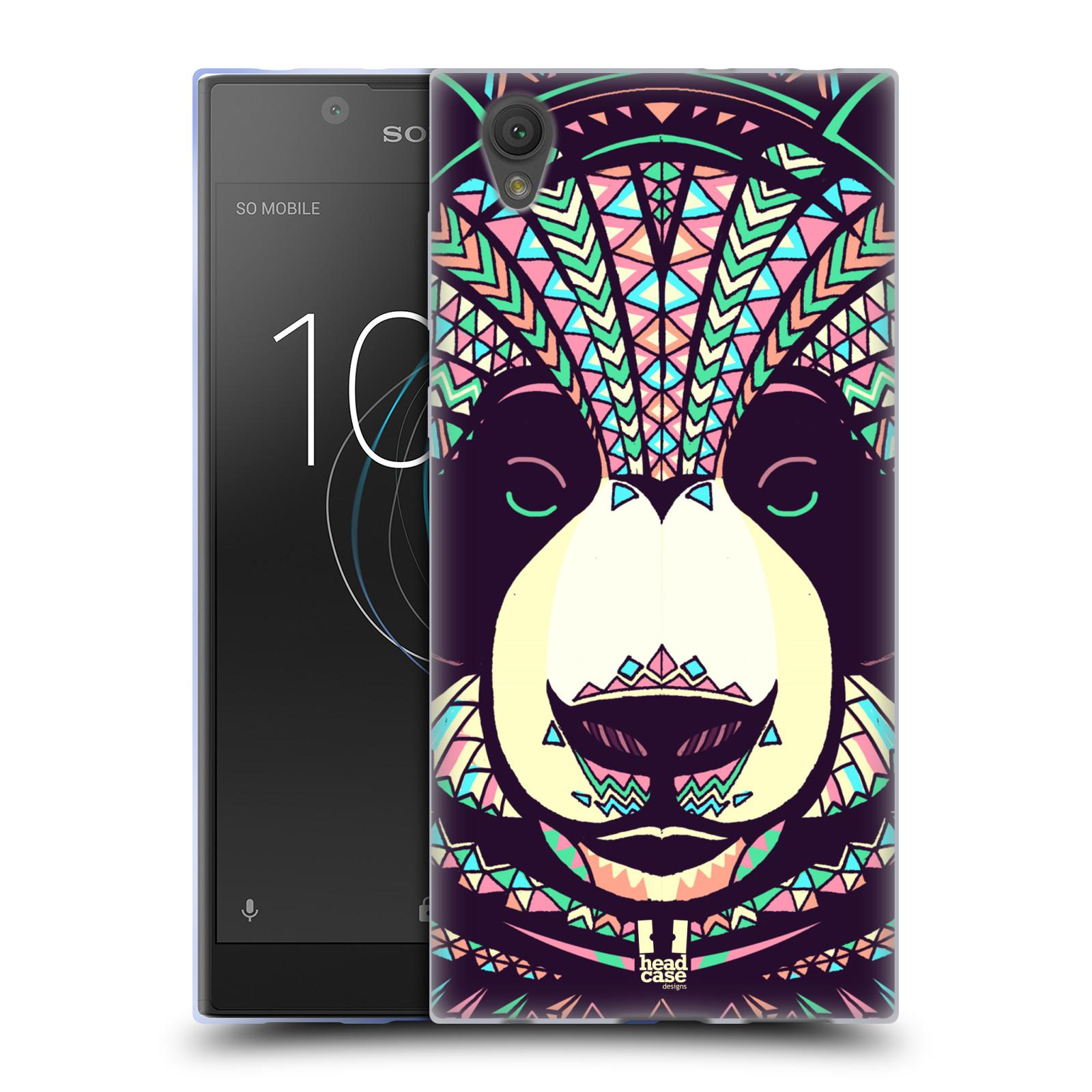 Silikonové pouzdro na mobil Sony Xperia L1 - Head Case - AZTEC PANDA