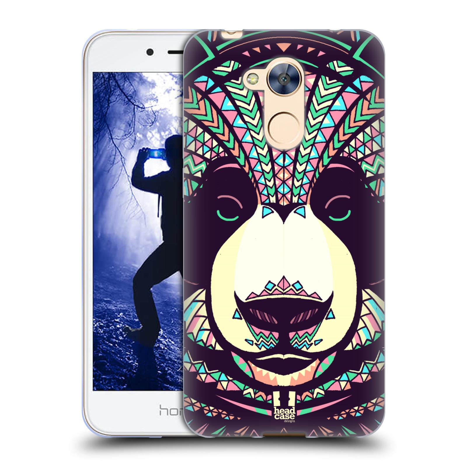 Silikonové pouzdro na mobil Honor 6A - Head Case - AZTEC PANDA