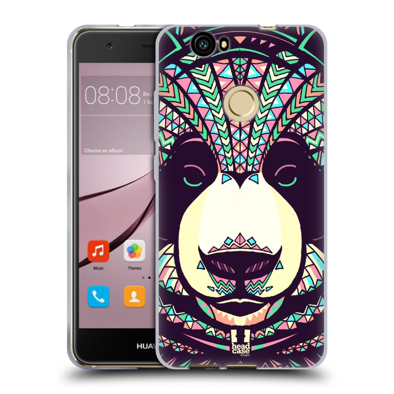 Silikonové pouzdro na mobil Huawei Nova - Head Case - AZTEC PANDA