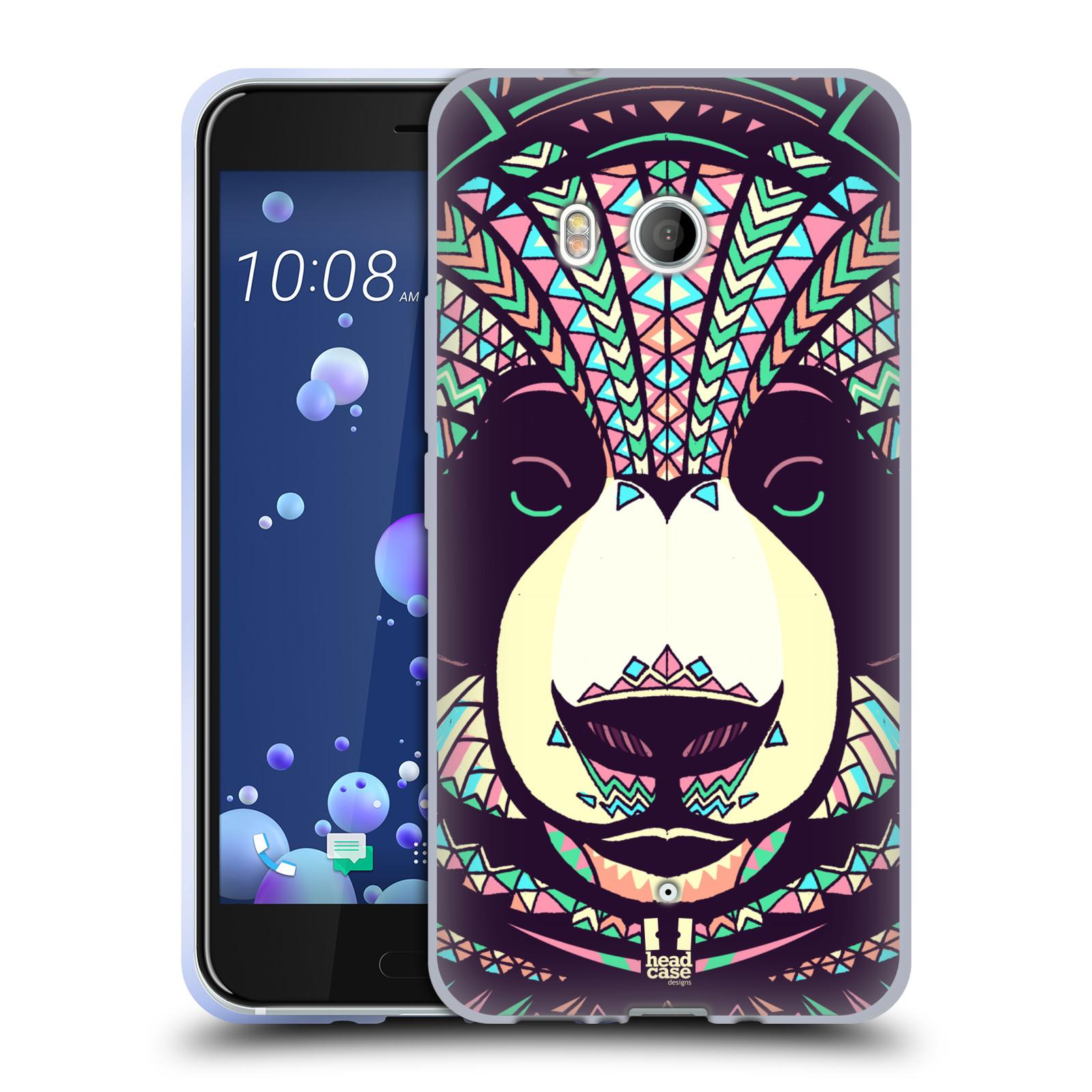 Silikonové pouzdro na mobil HTC U11 - Head Case - AZTEC PANDA