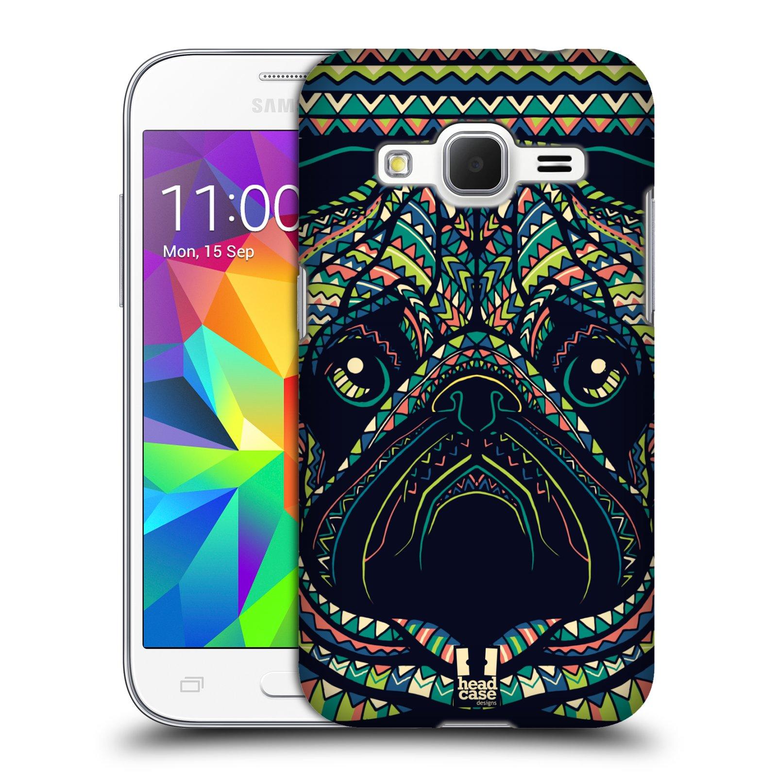 Plastové pouzdro na mobil Samsung Galaxy Core Prime LTE HEAD CASE AZTEC MOPS