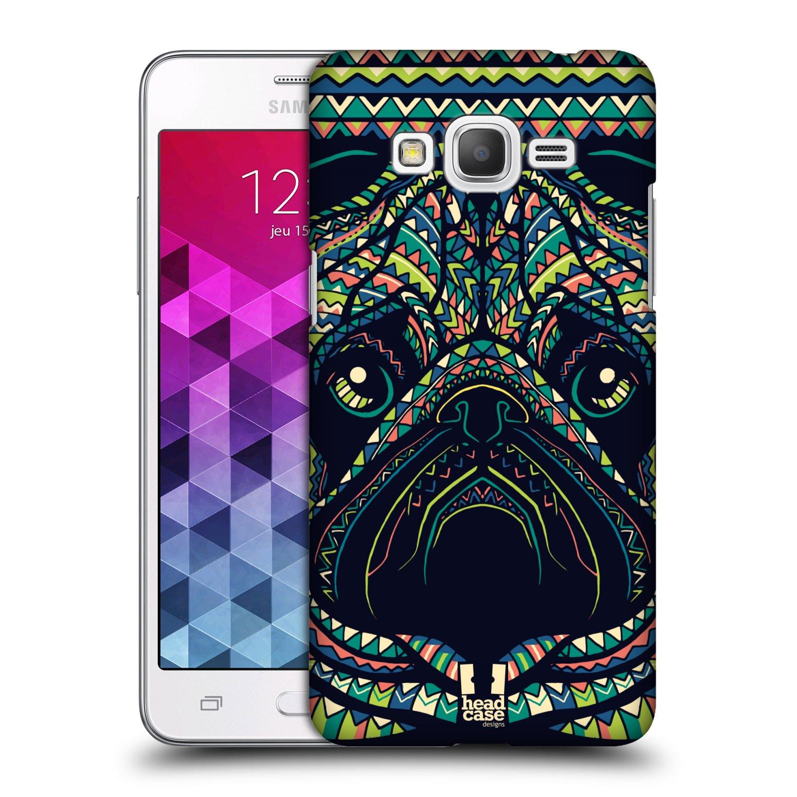 Plastové pouzdro na mobil Samsung Galaxy Grand Prime VE HEAD CASE AZTEC MOPS