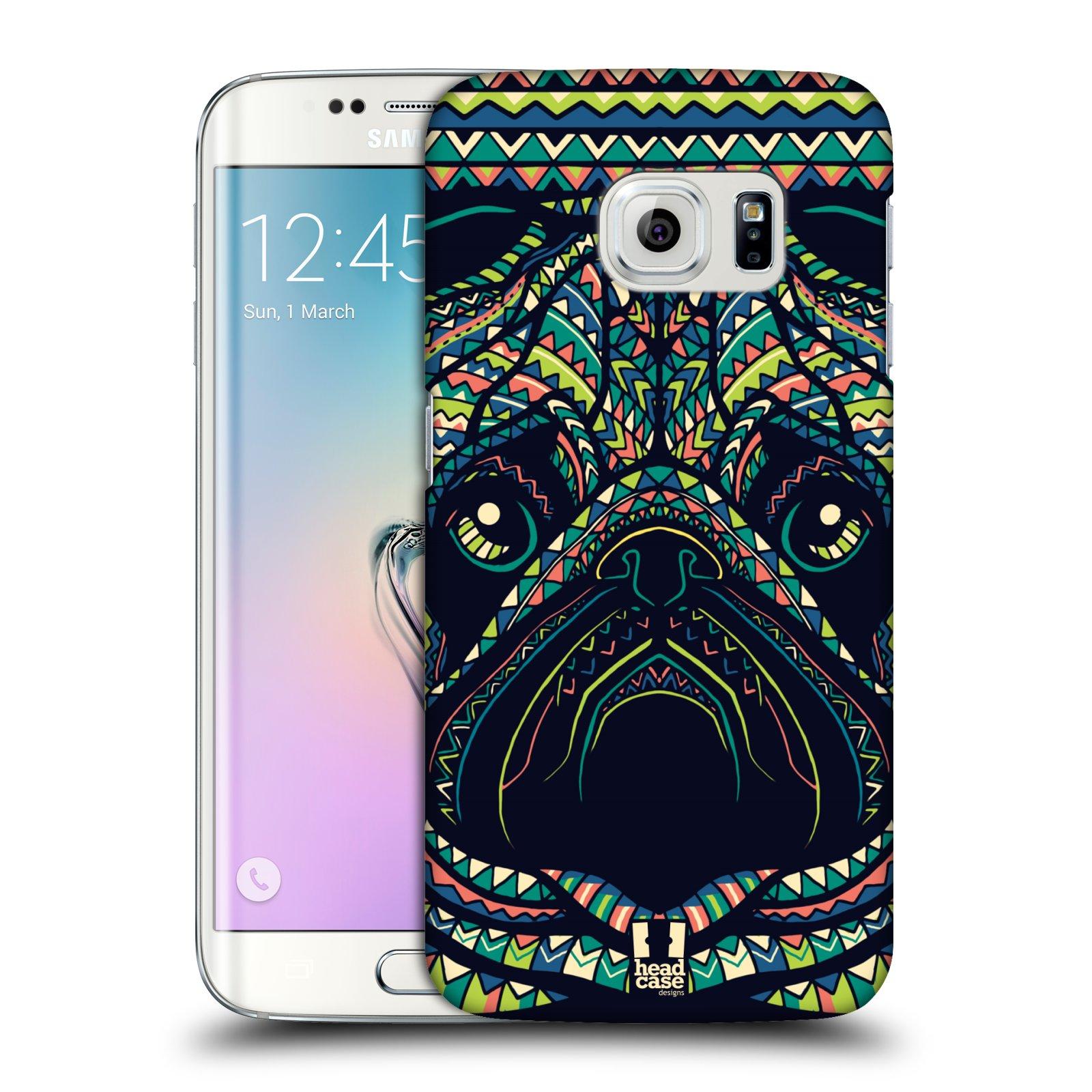 Plastové pouzdro na mobil Samsung Galaxy S6 Edge HEAD CASE AZTEC MOPS