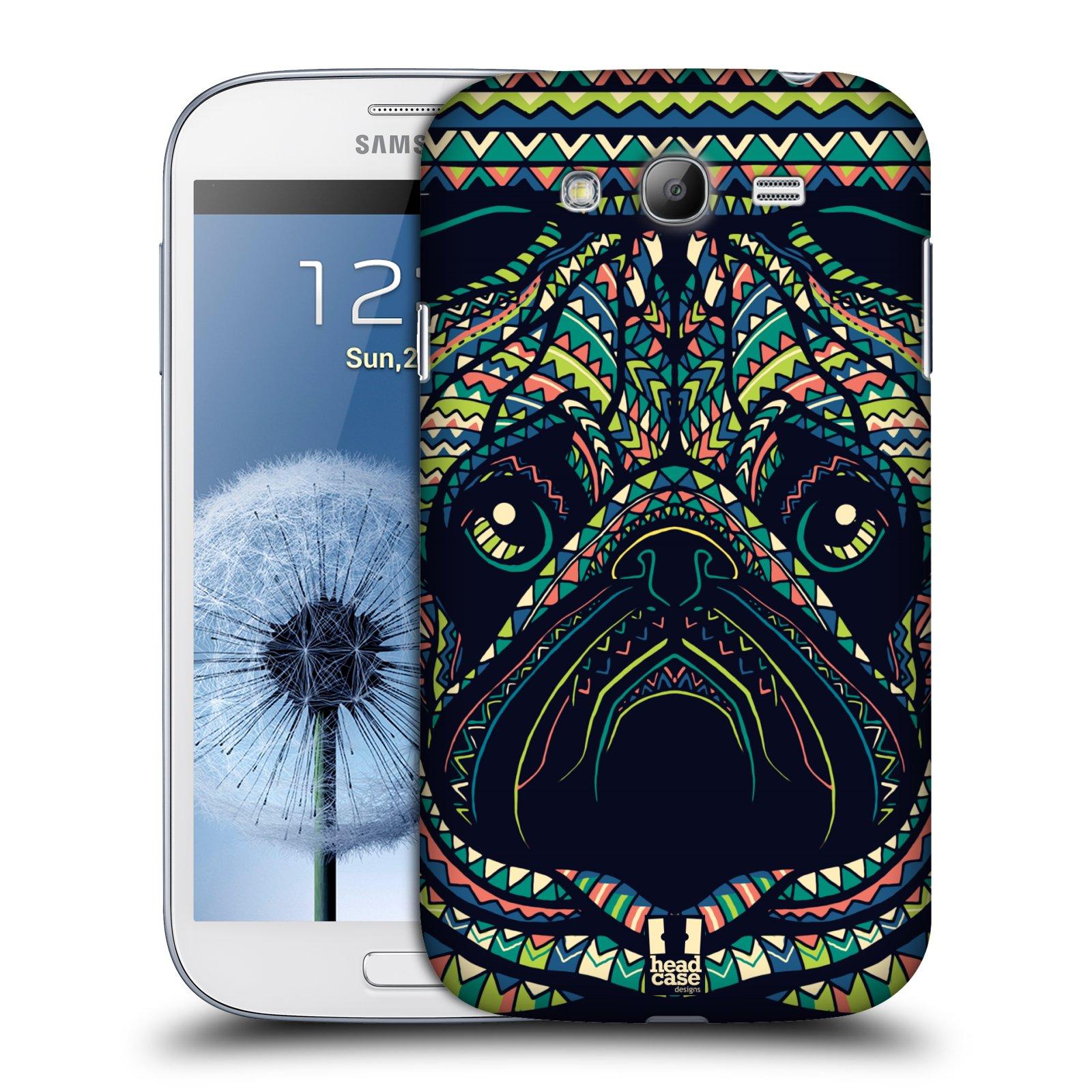 Plastové pouzdro na mobil Samsung Galaxy Grand Neo Plus HEAD CASE AZTEC MOPS (Kryt či obal na mobilní telefon Samsung Galaxy Grand Neo Plus GT-i9060i)