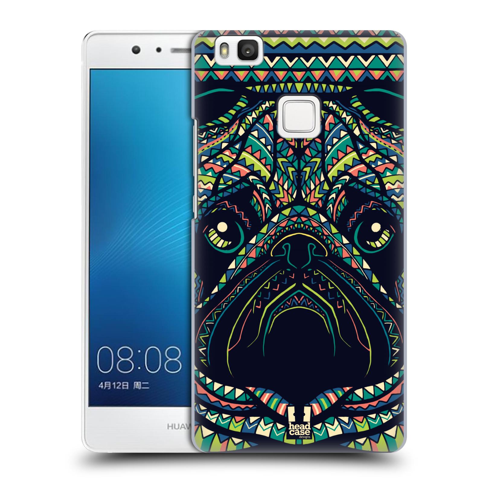 Plastové pouzdro na mobil Huawei P9 Lite HEAD CASE AZTEC MOPS