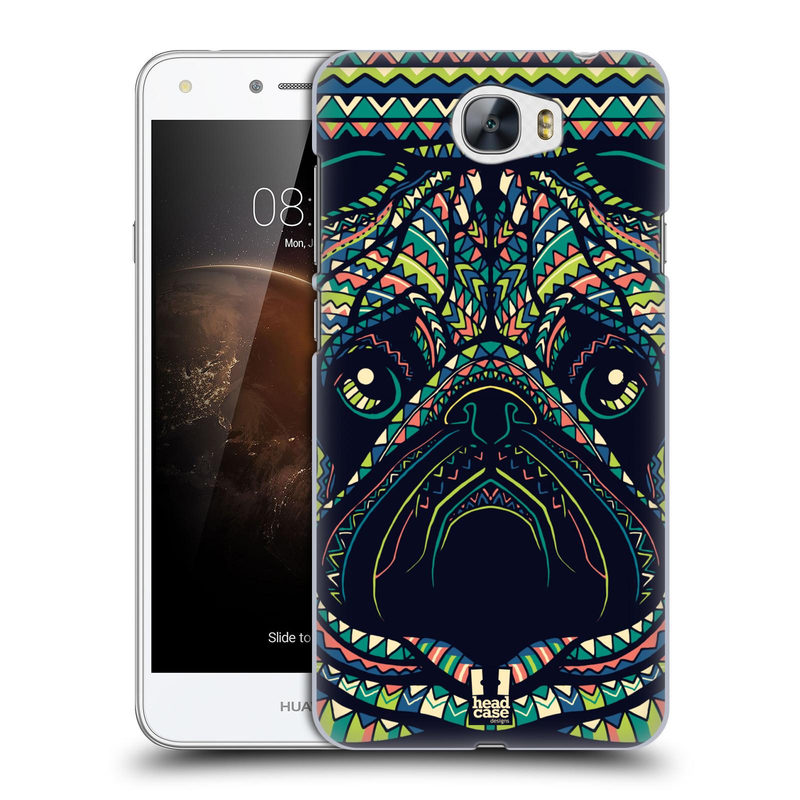 Plastové pouzdro na mobil Huawei Y5 II HEAD CASE AZTEC MOPS