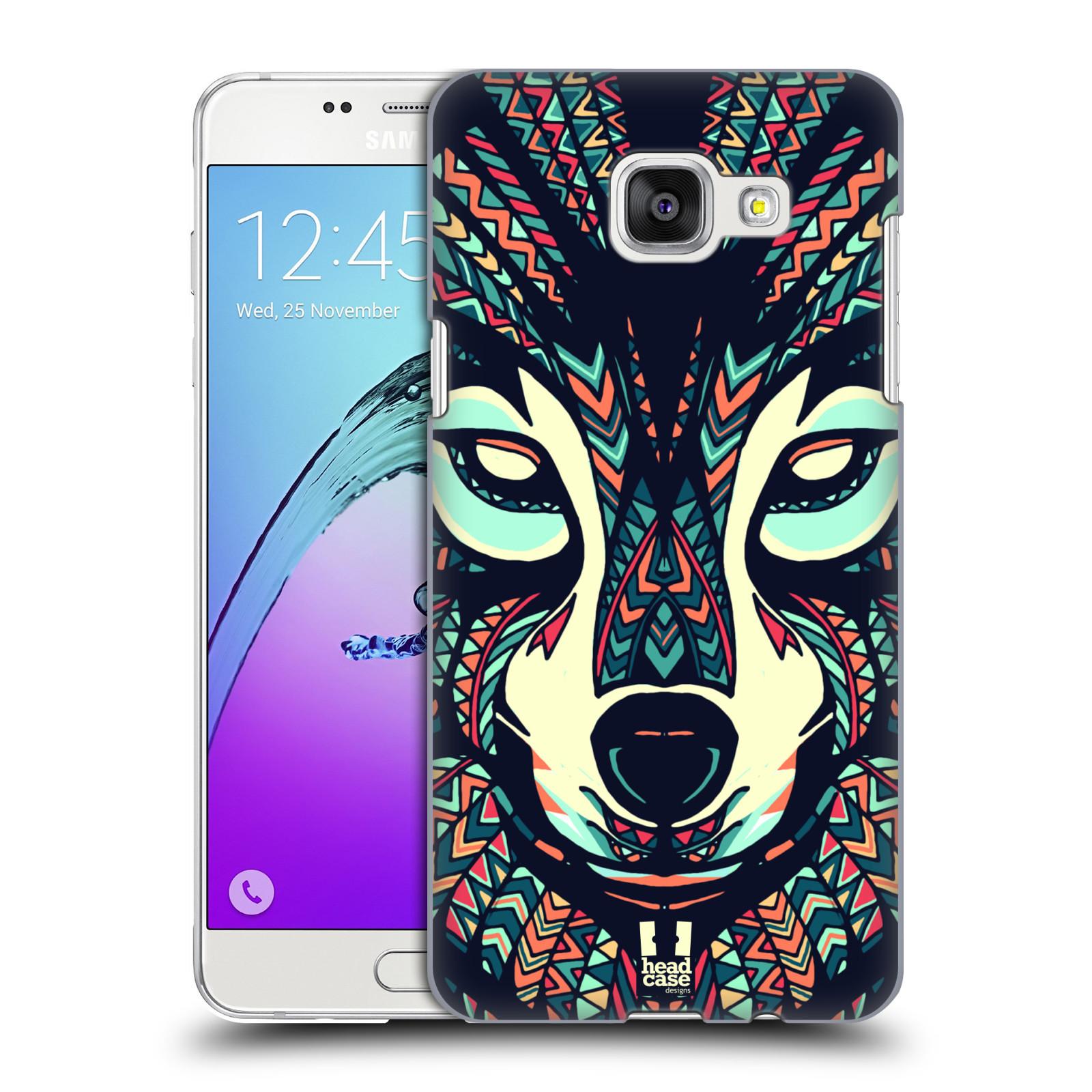 Plastové pouzdro na mobil Samsung Galaxy A5 (2016) HEAD CASE AZTEC VLK