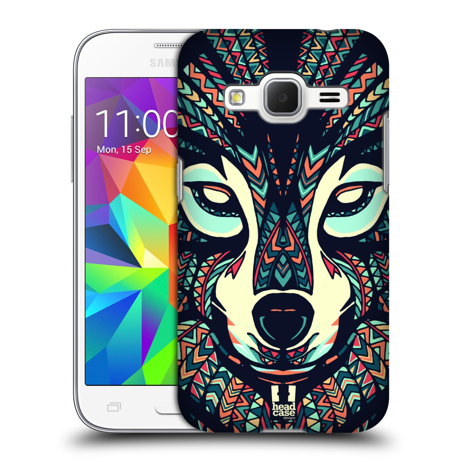 Plastové pouzdro na mobil Samsung Galaxy Core Prime LTE HEAD CASE AZTEC VLK