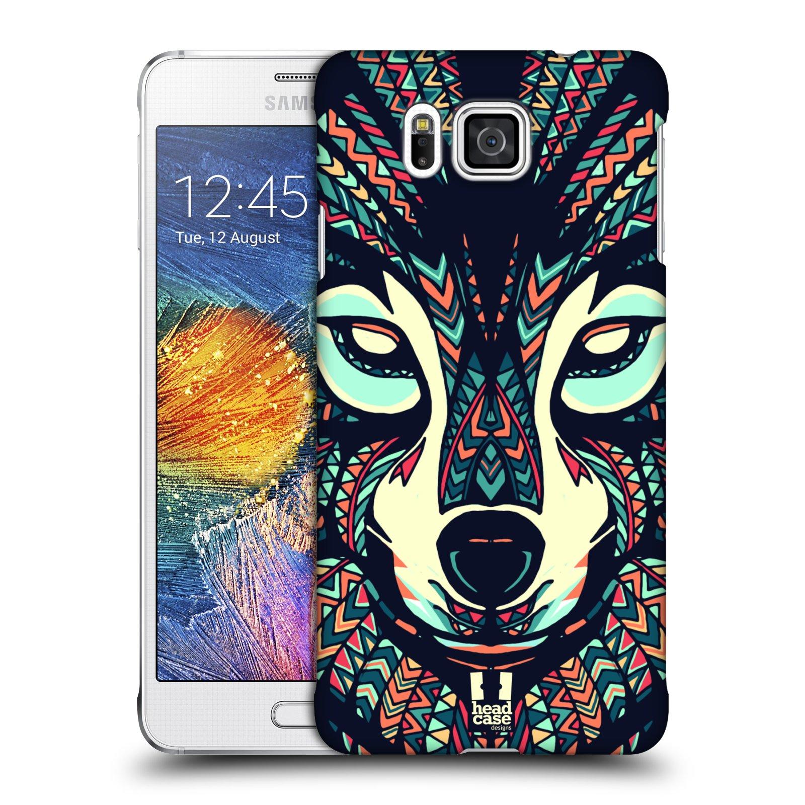 Plastové pouzdro na mobil Samsung Galaxy Alpha HEAD CASE AZTEC VLK