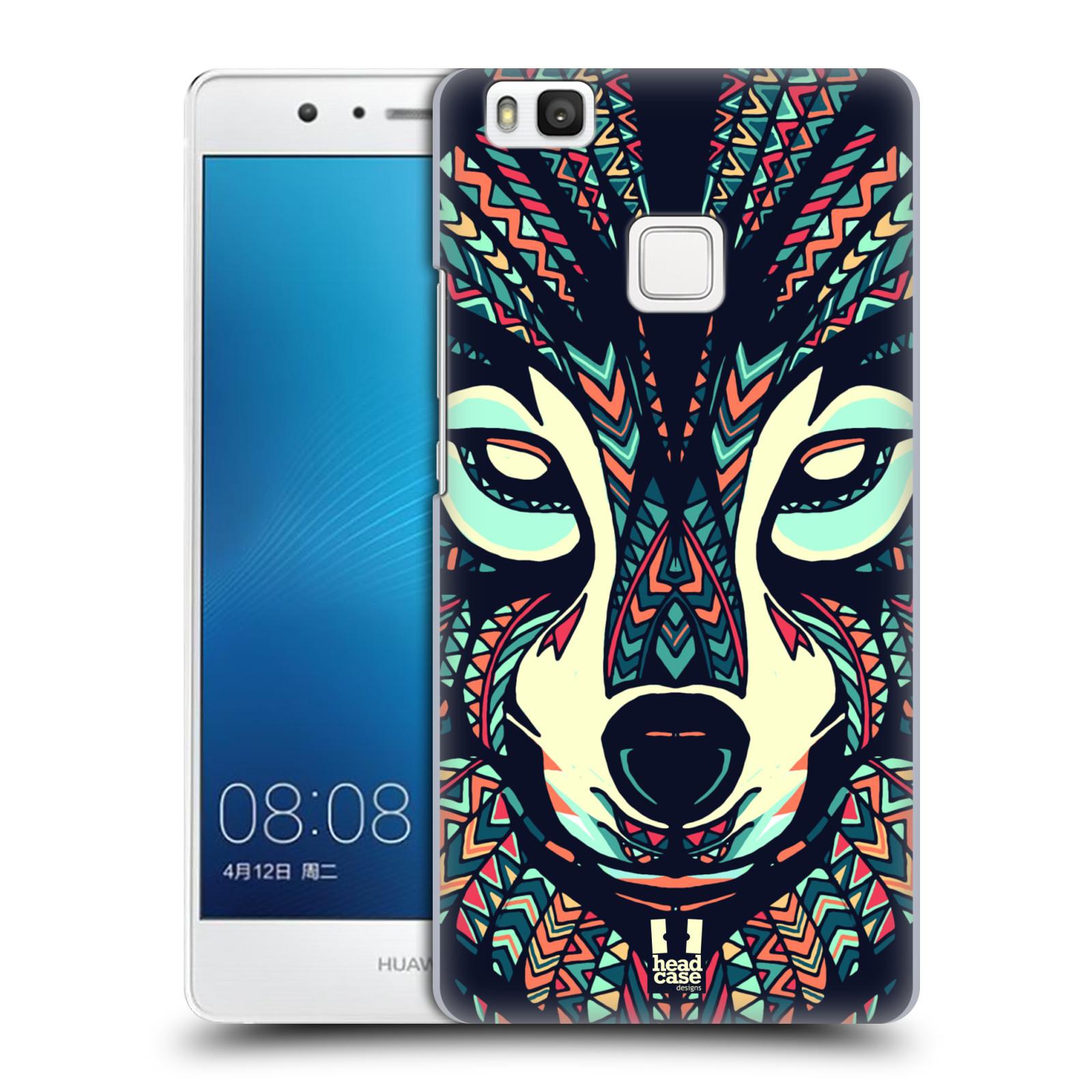 Plastové pouzdro na mobil Huawei P9 Lite HEAD CASE AZTEC VLK
