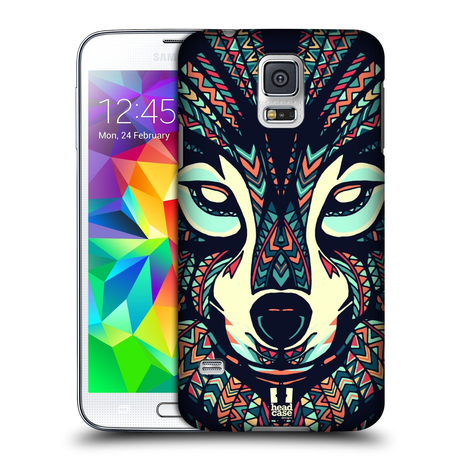 Plastové pouzdro na mobil Samsung Galaxy S5 HEAD CASE AZTEC VLK