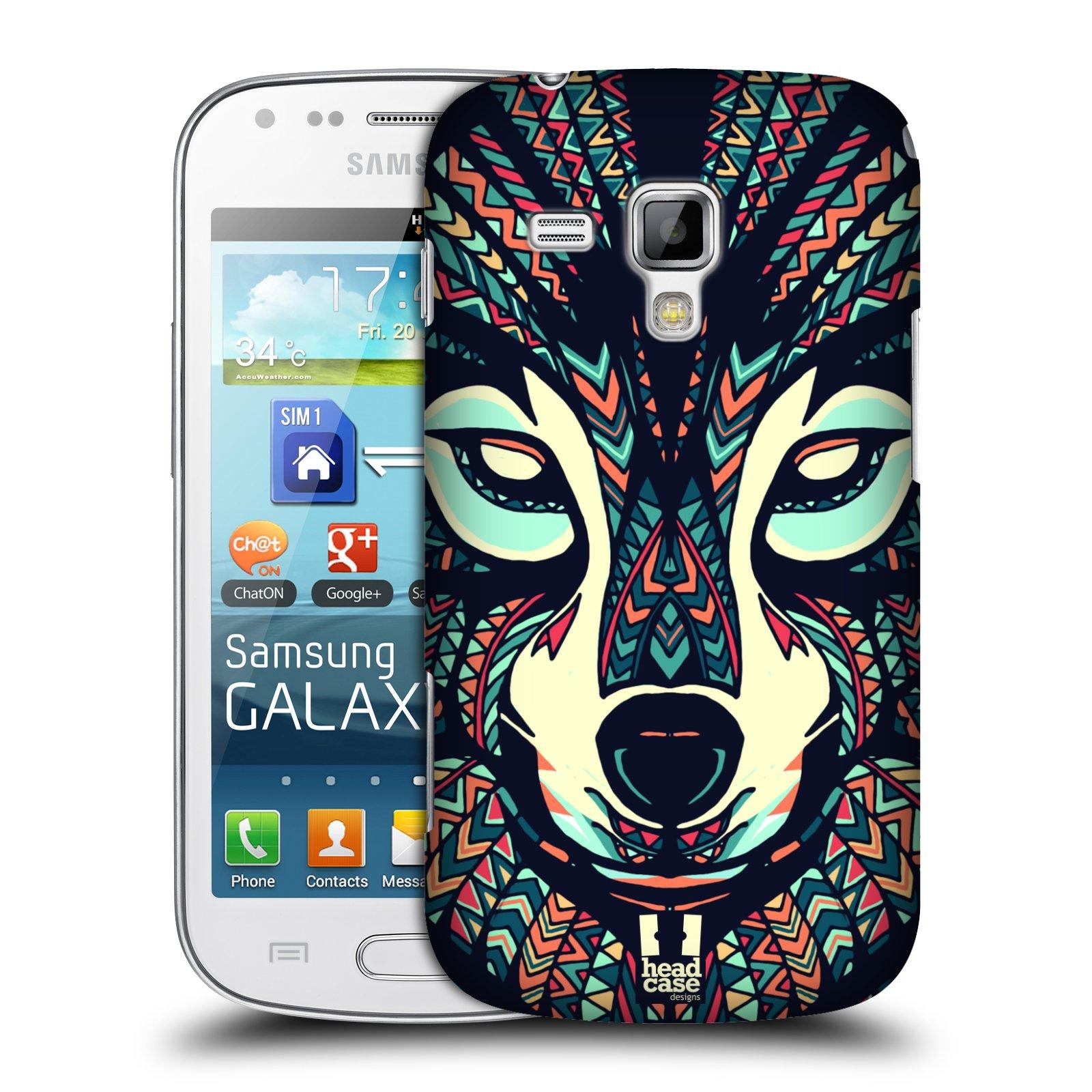 Plastové pouzdro na mobil Samsung Galaxy Trend Plus HEAD CASE AZTEC VLK